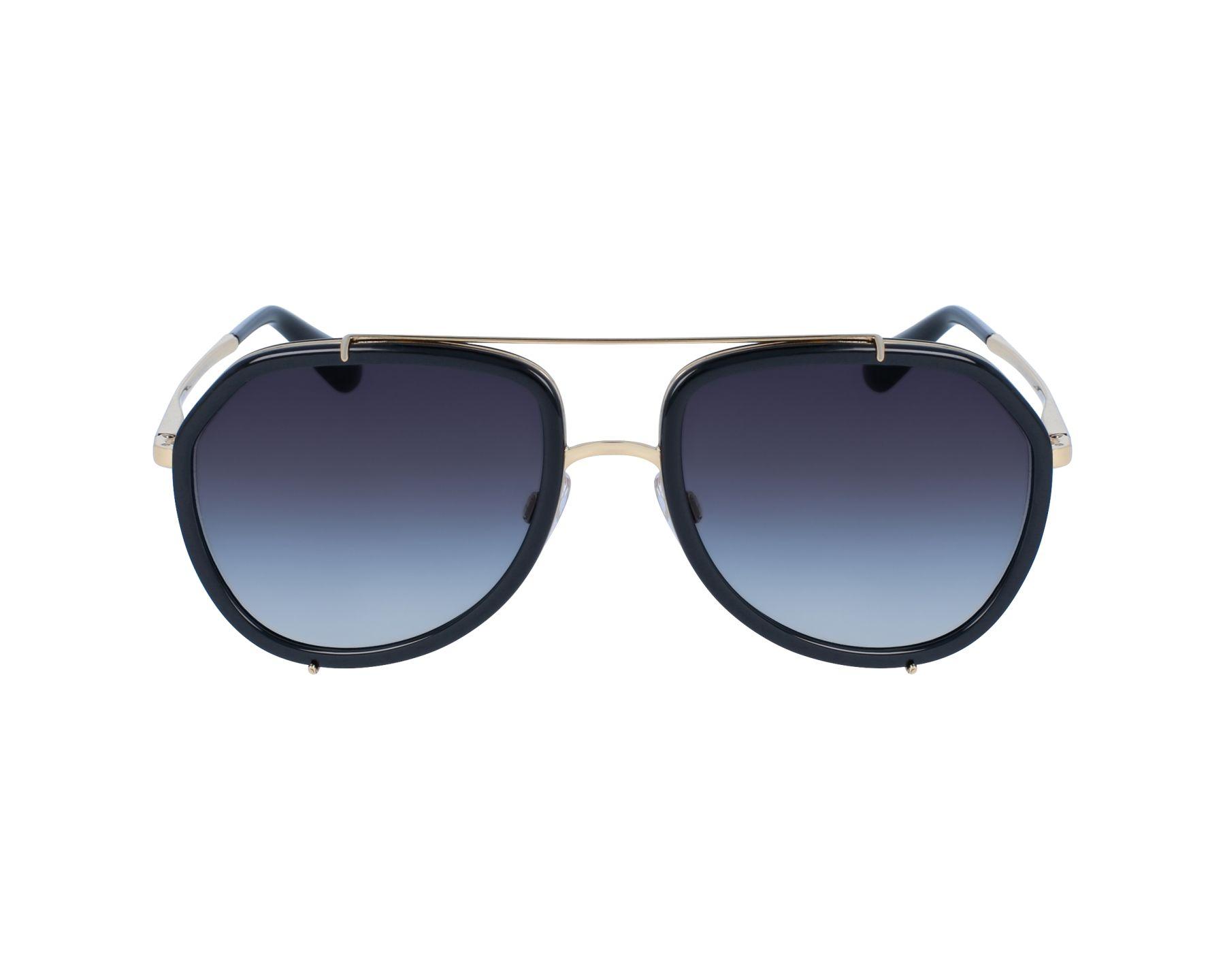 DOLCE & GABBANA Dolce & Gabbana Sonnenbrille » DG2161«, schwarz, 02/8G - schwarz/grau