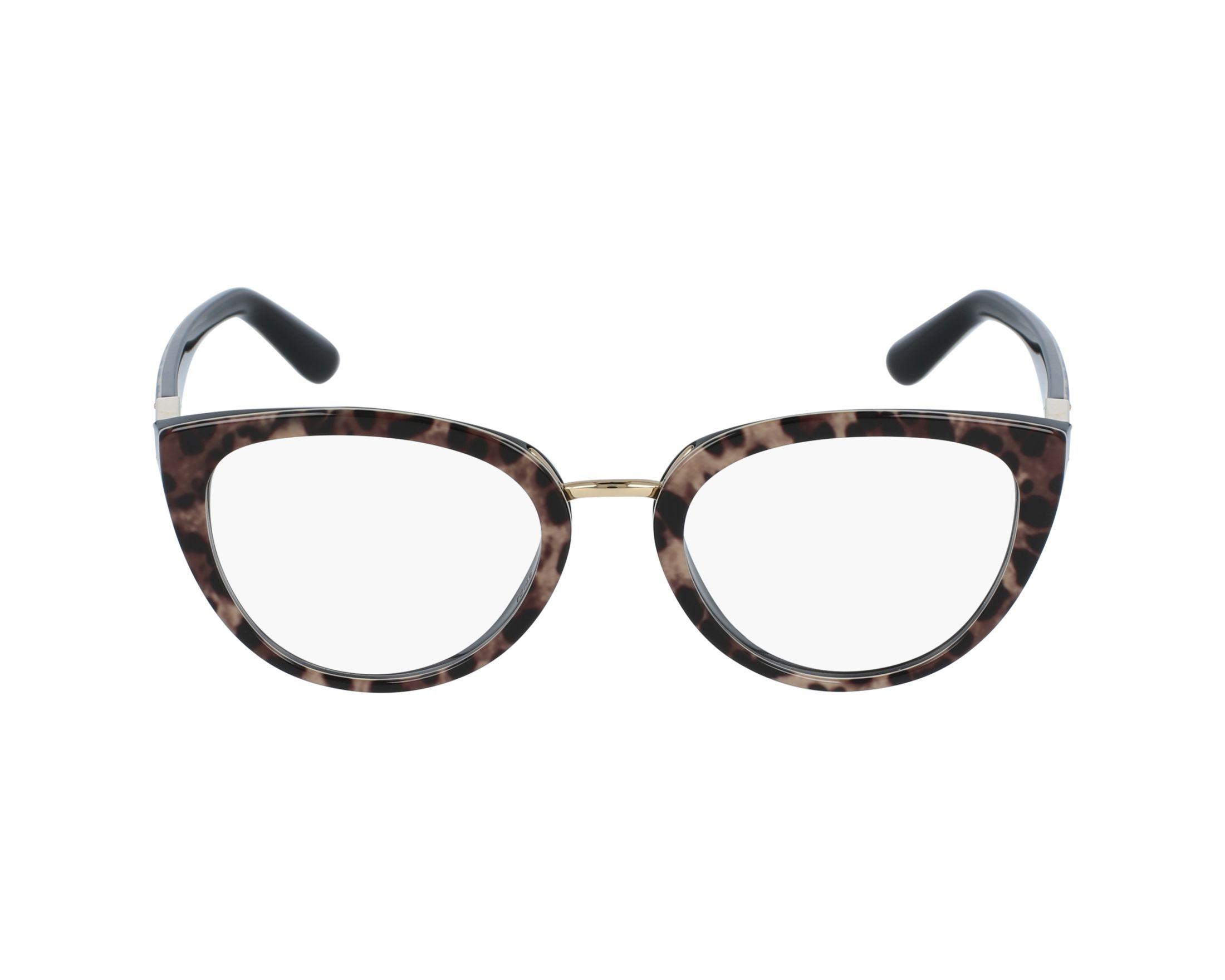 dolce gabbana brille dg 3262 1995 leopard gl ser. Black Bedroom Furniture Sets. Home Design Ideas