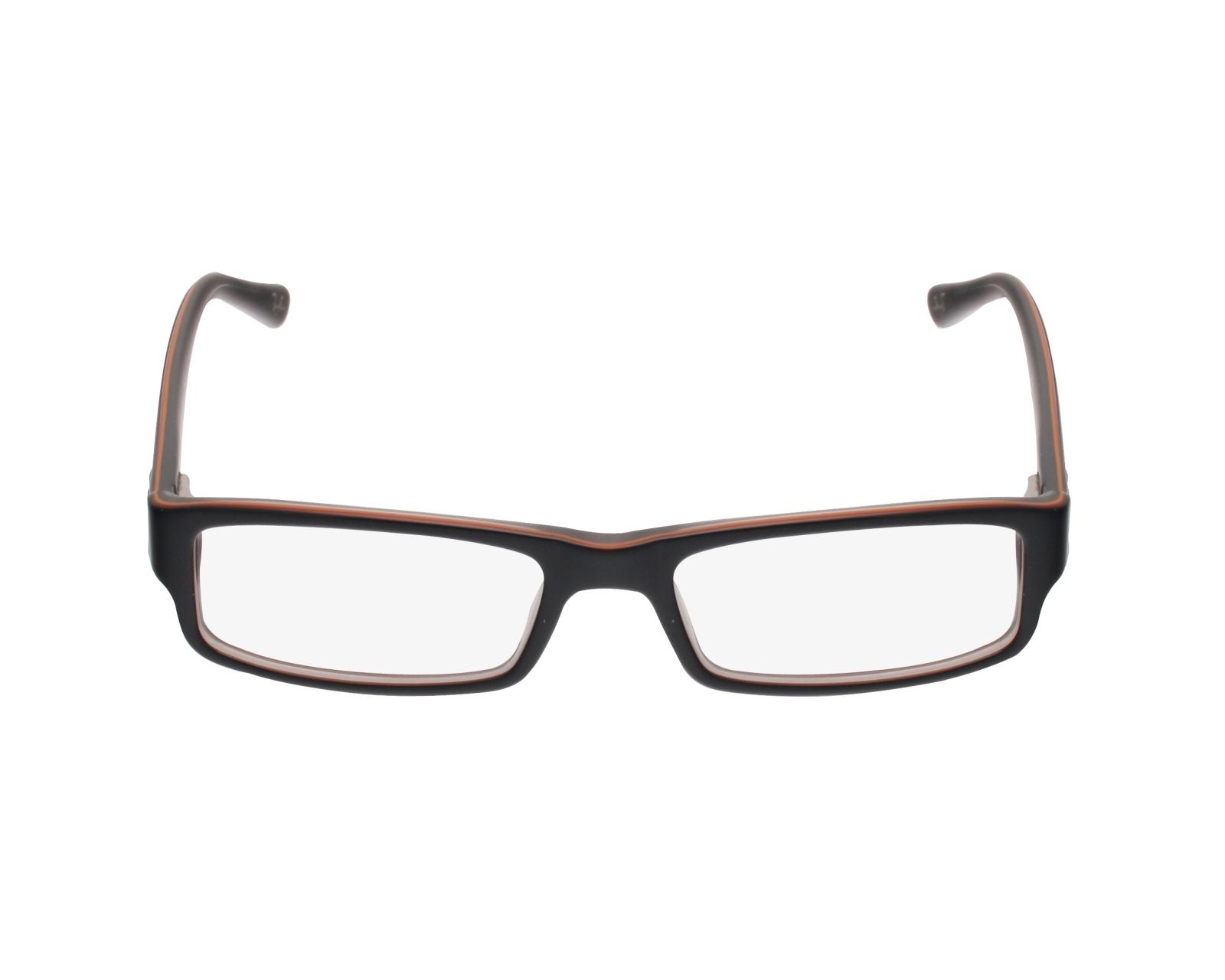 bba9eae004 Brillen Ray-Ban RX-5246 5091 - schwarz orange Profilansicht