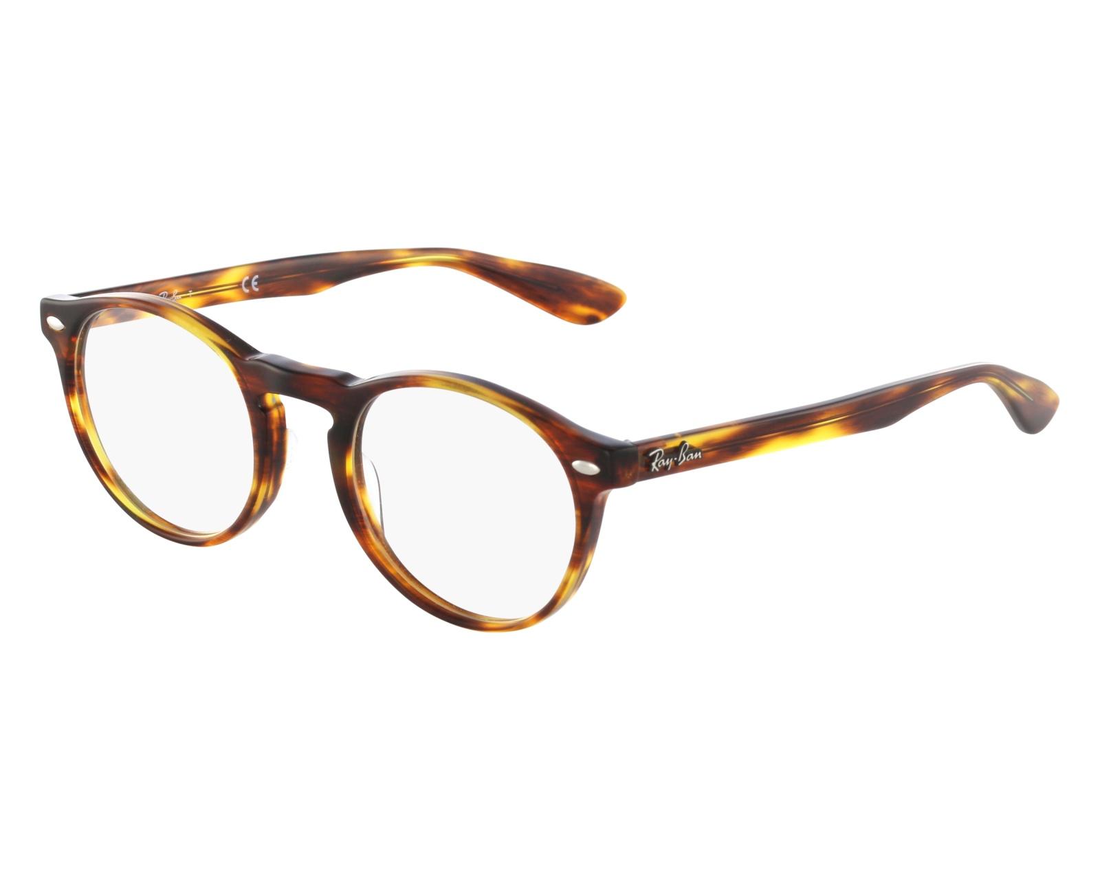 RAY BAN RAY-BAN Herren Brille » RX5283«, braun, 2144 - braun