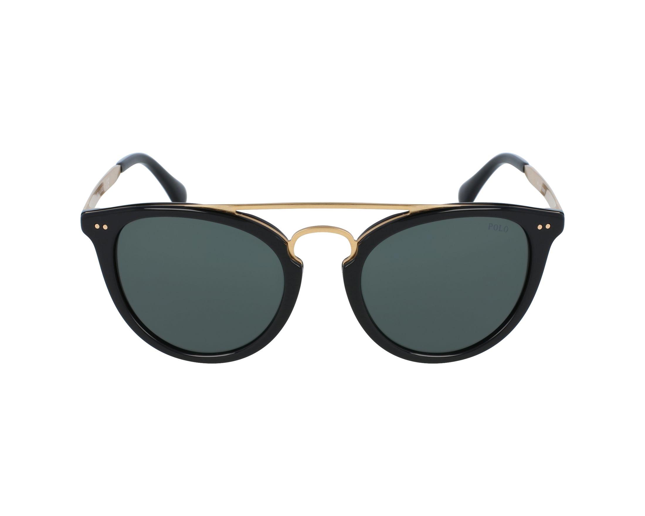 Polo Sonnenbrille » PH4121«, schwarz, 500171 - schwarz/grün