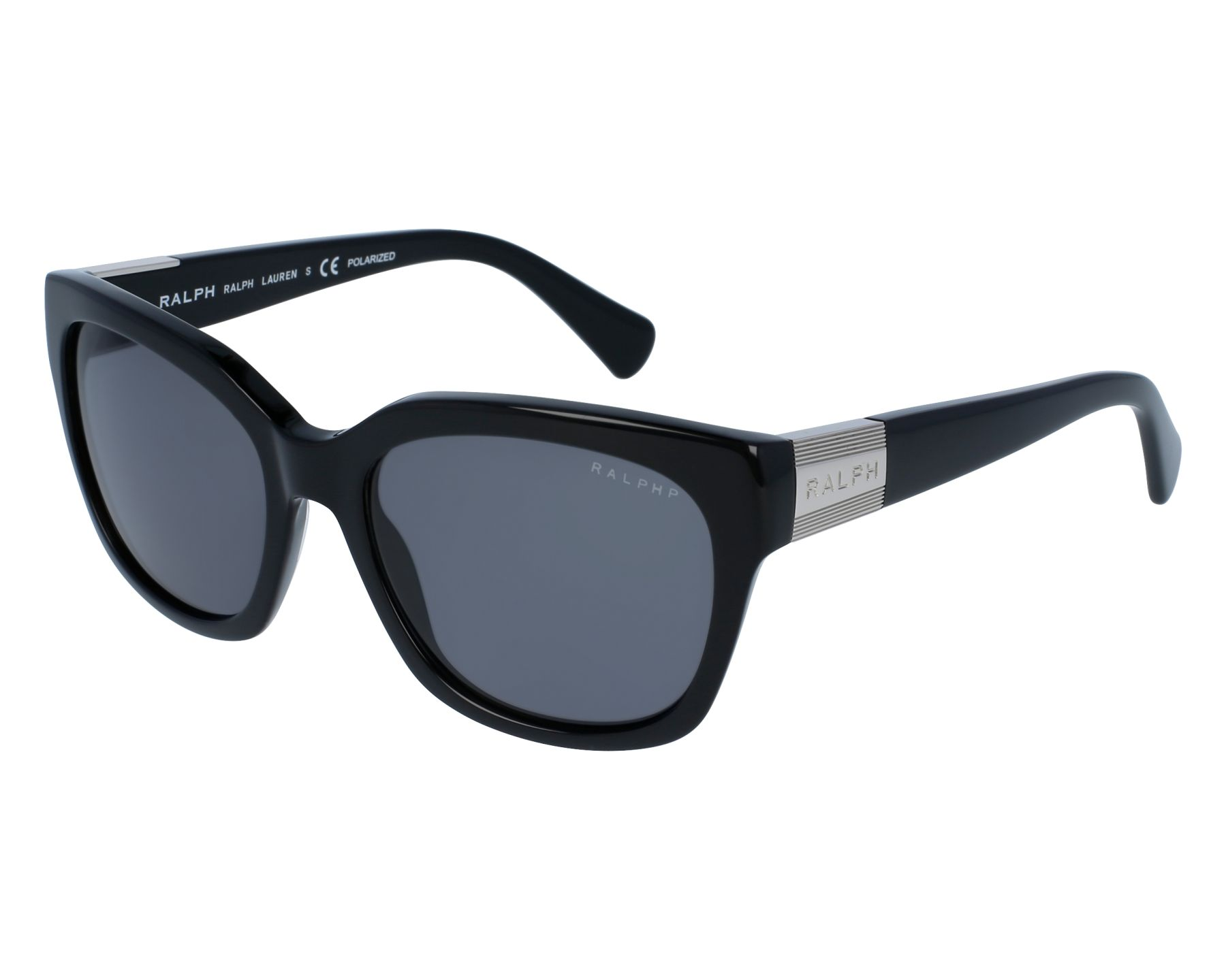 Ralph RA5221 Sonnenbrille Schwarz 137781 Polarisiert 54mm H3bWEmAGt