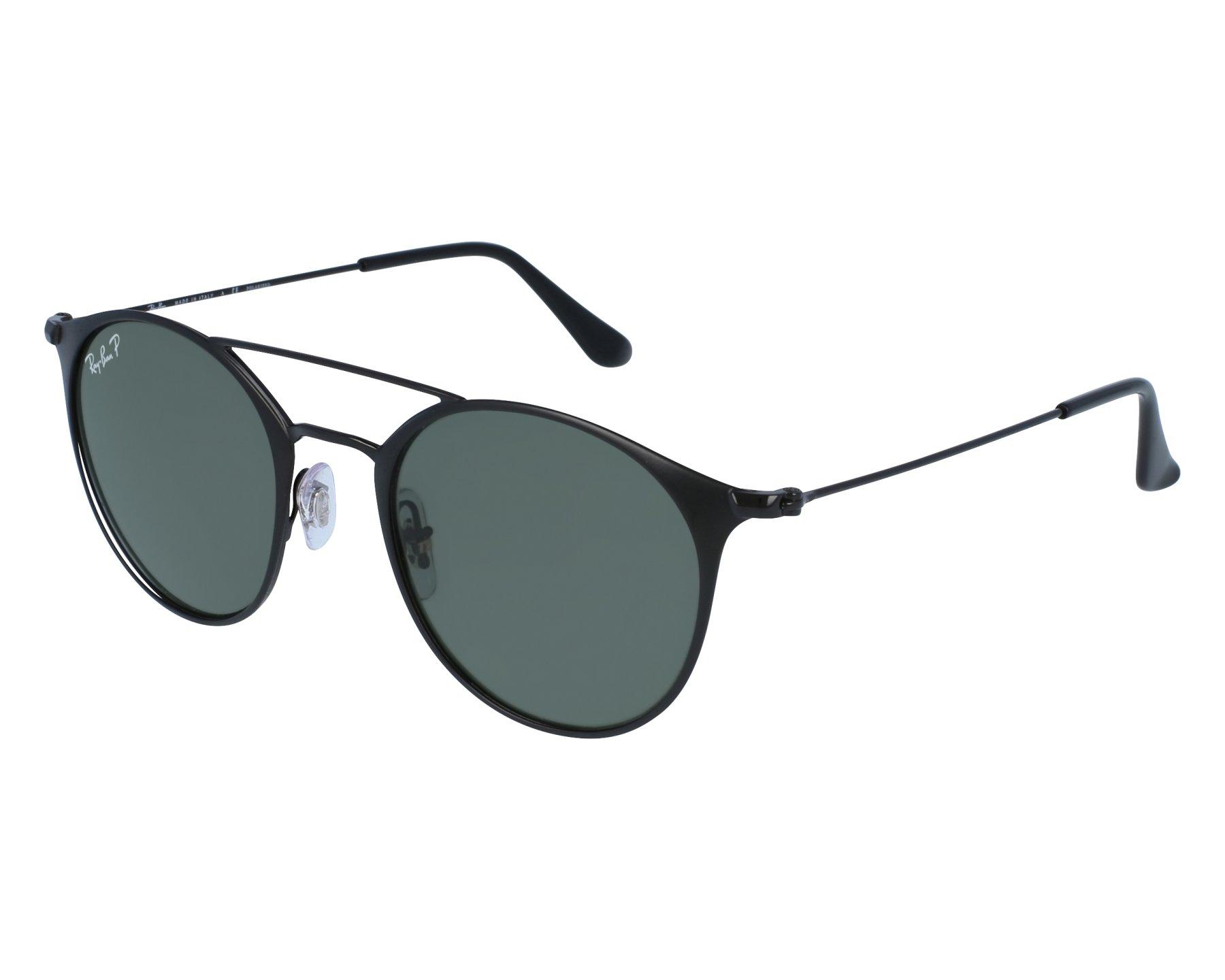 Ray-Ban RB3546 Sonnenbrille Mattschwarz 186 49mm mVU9FeEoJ