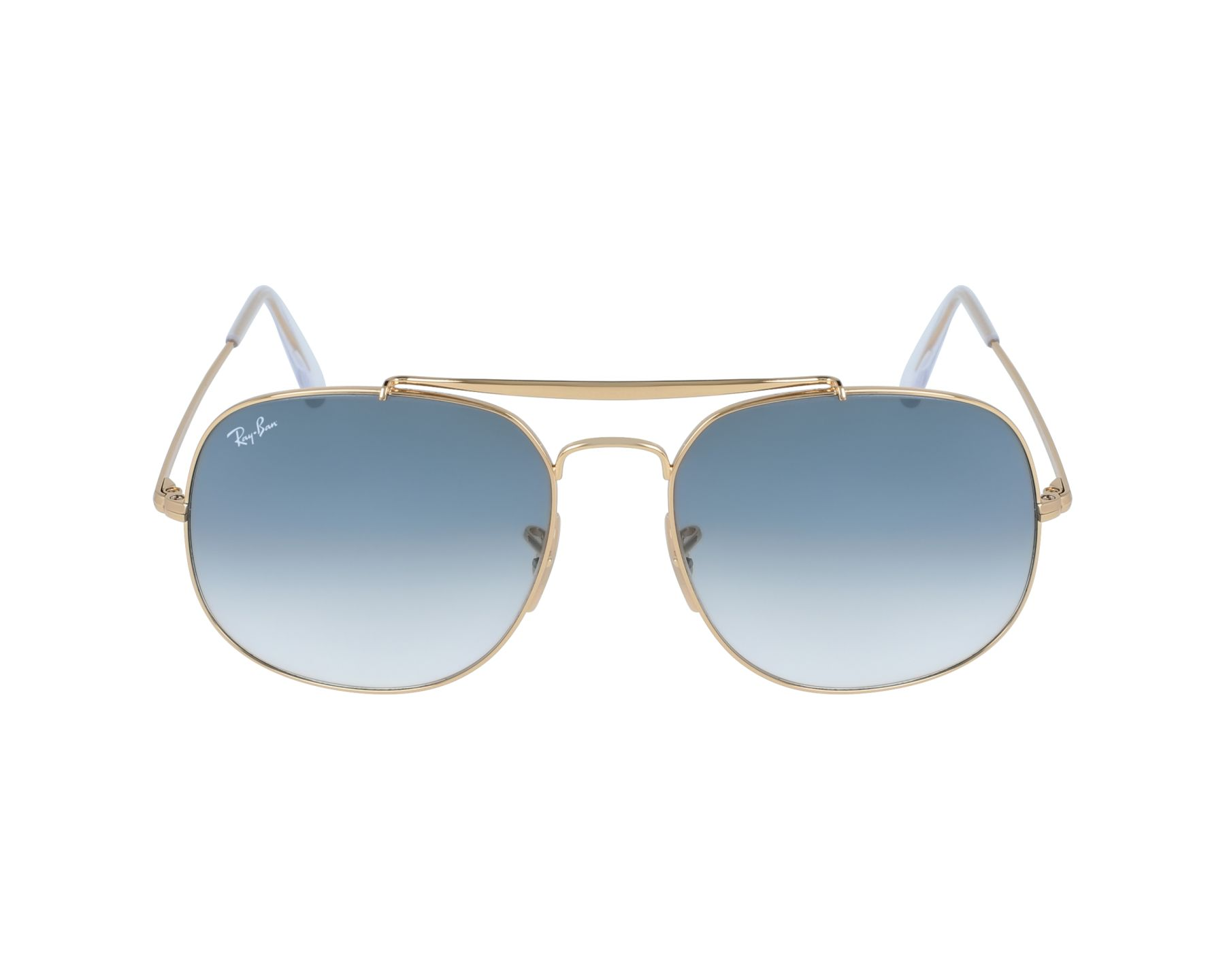 Ray-Ban RB3561 Sonnenbrille Gold 001 57mm XLmrRQd