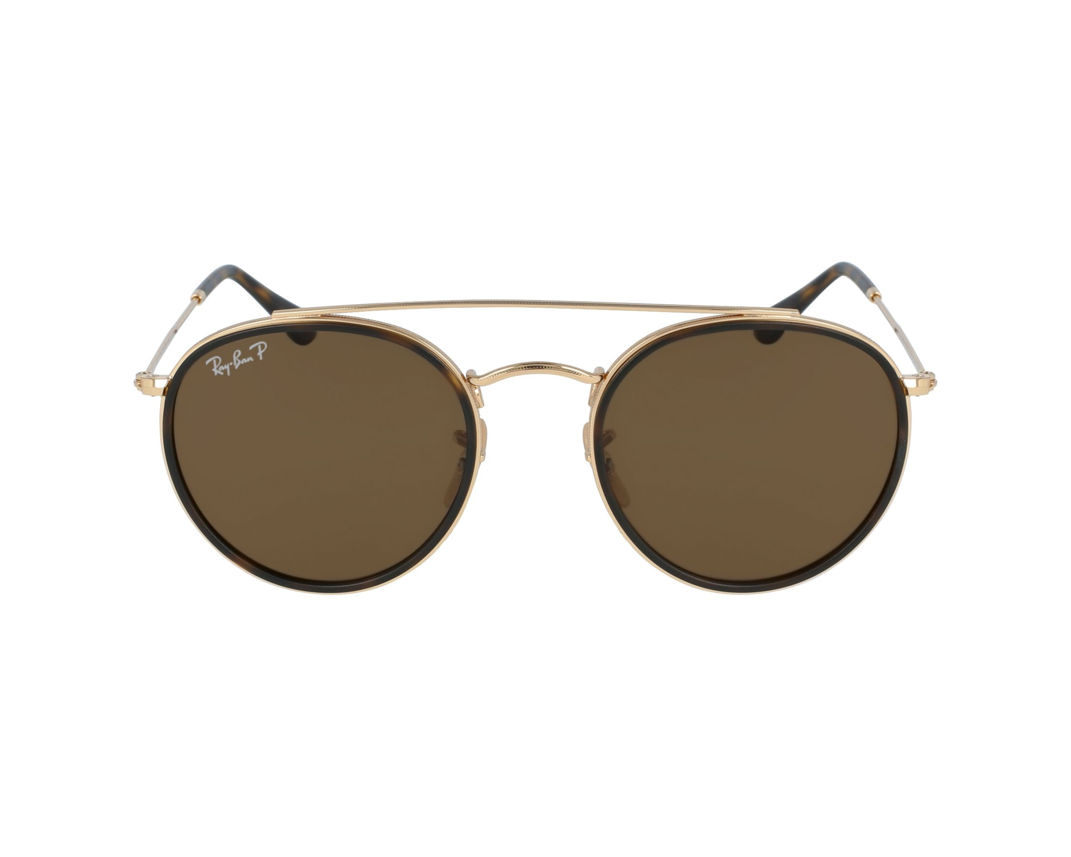 Ray-Ban RB3647N Sonnenbrille Gold 001/57 Polarisiert 51mm nwdEDuo