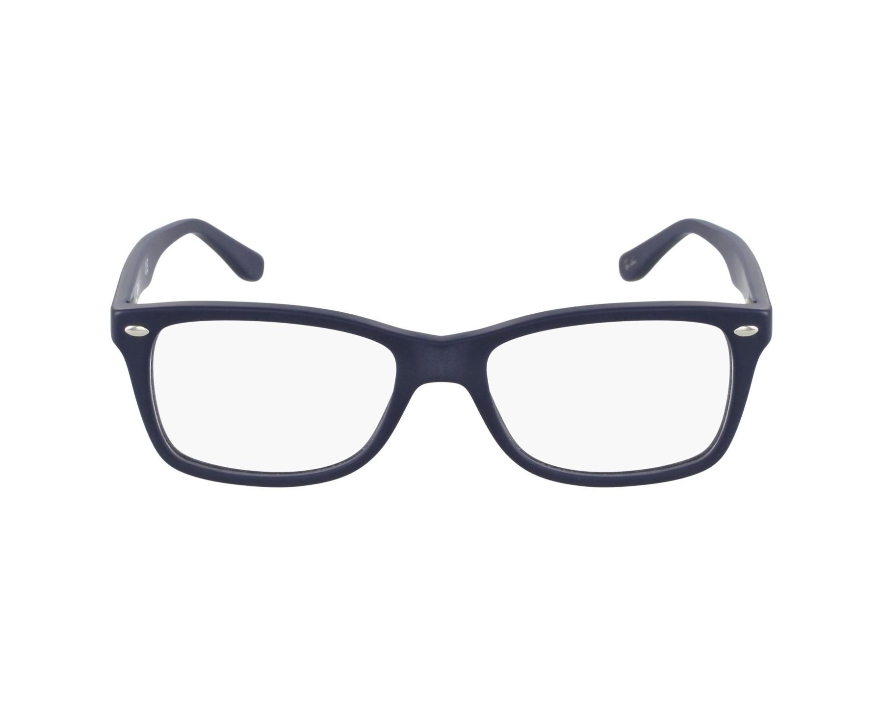 f37450d90 Brillen Ray-Ban RX-5228 5583 50-17 blau Profilansicht