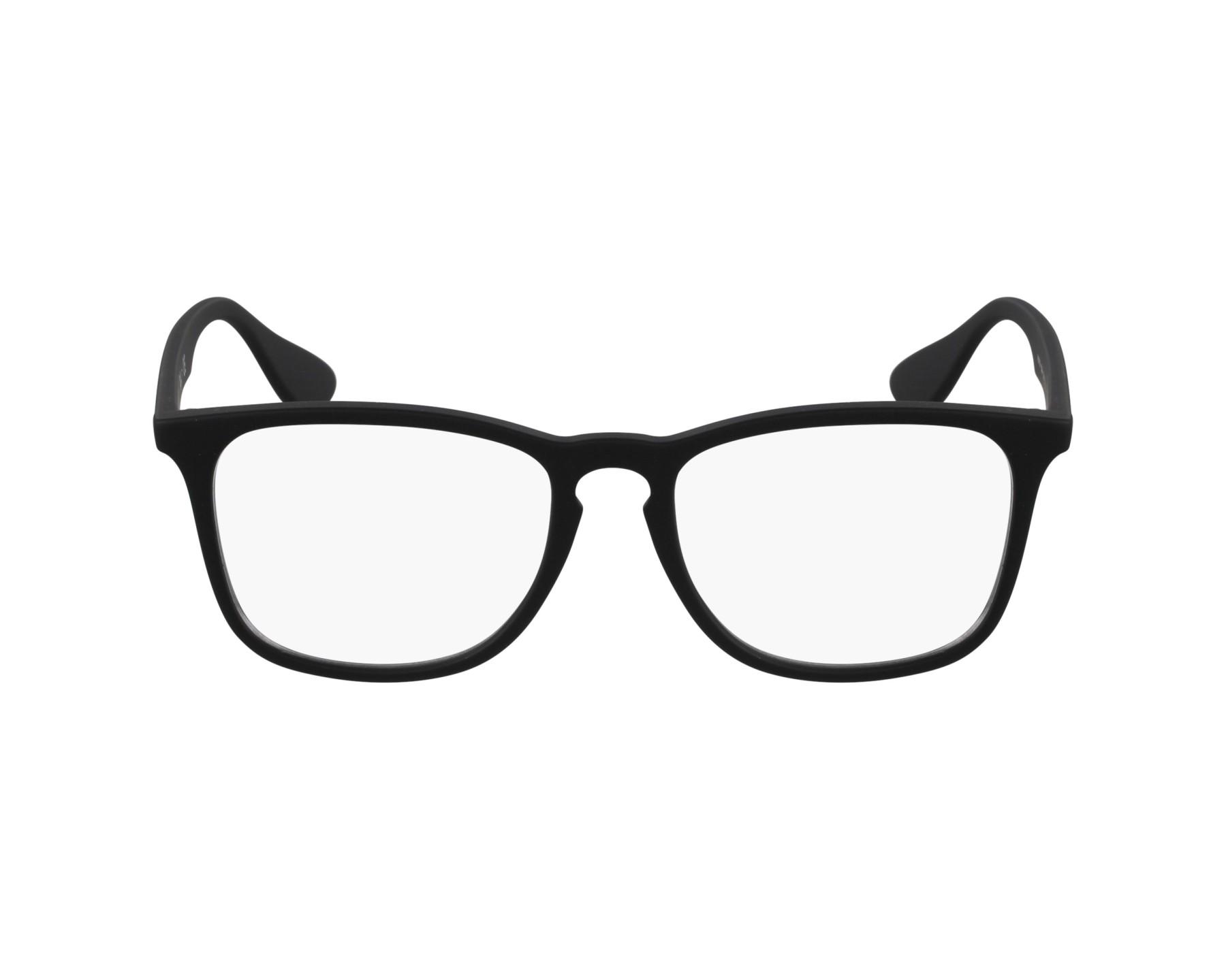 c39d1fc7b2 Brillen Ray-Ban RX-7074 5364 52-18 schwarz Profilansicht