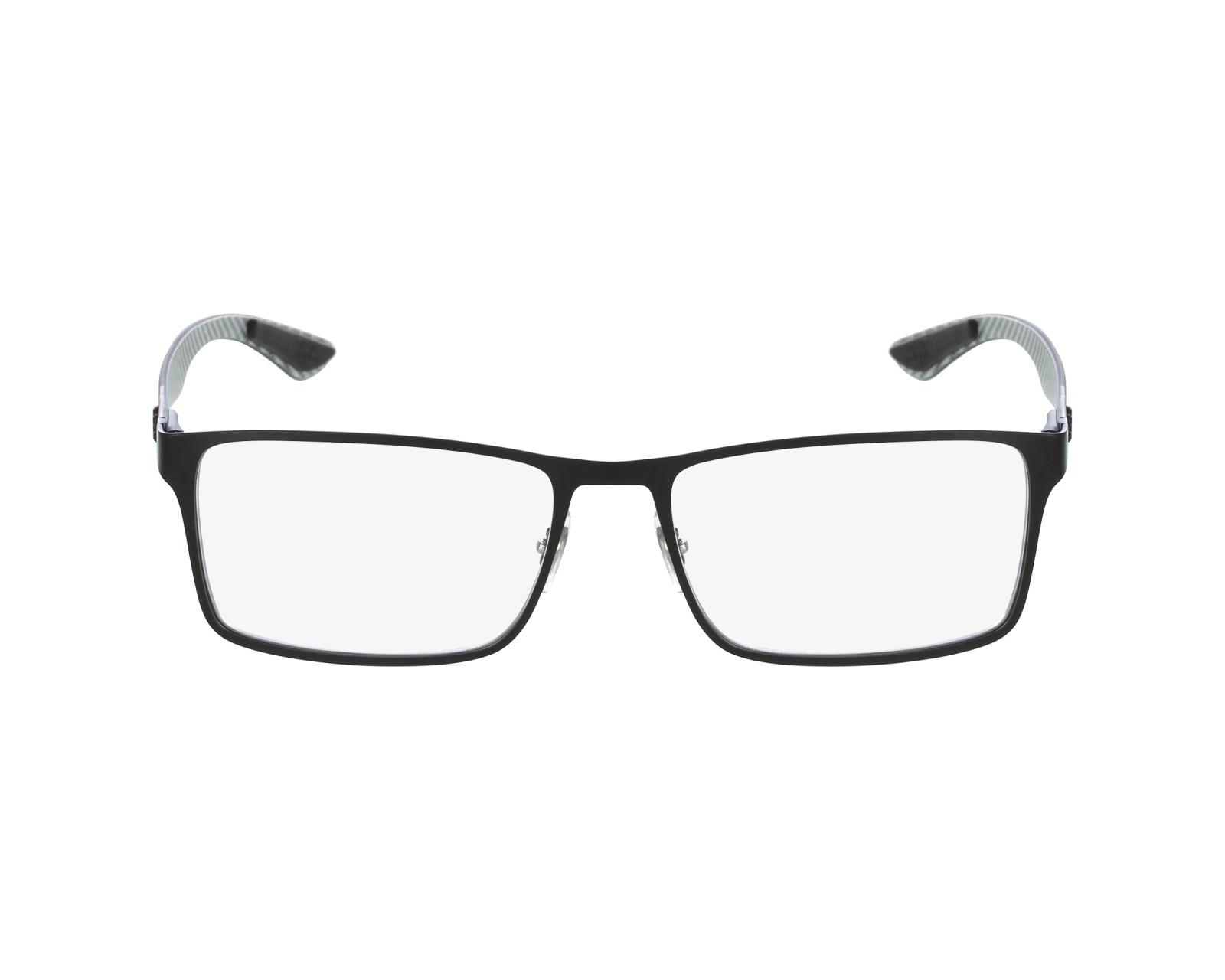 98cd842ec7 Brillen Ray-Ban RX-8415 2503 53-17 schwarz grau Profilansicht