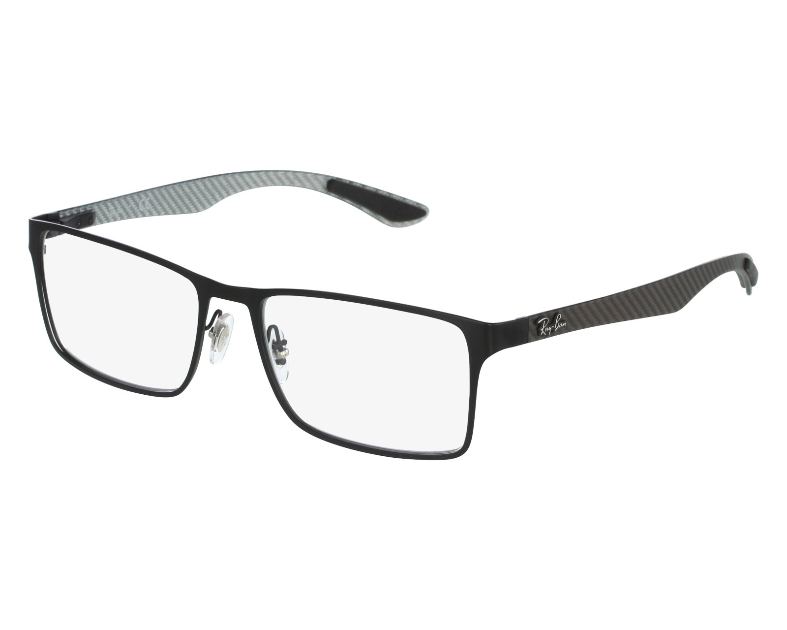 d79e50370b Brillen Ray-Ban RX-8415 2503 53-17 schwarz grau Vorderansicht