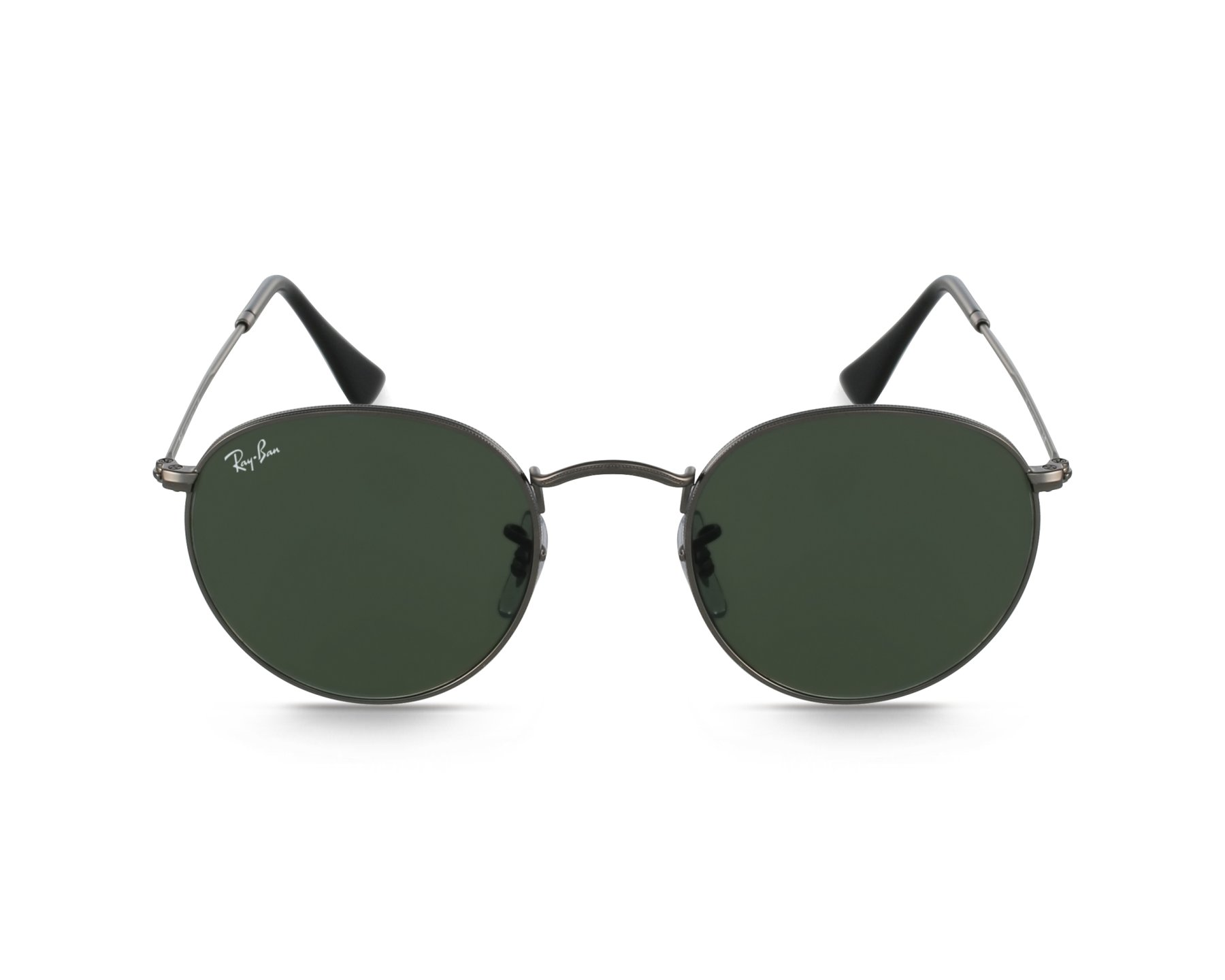 ray ban round metal brille