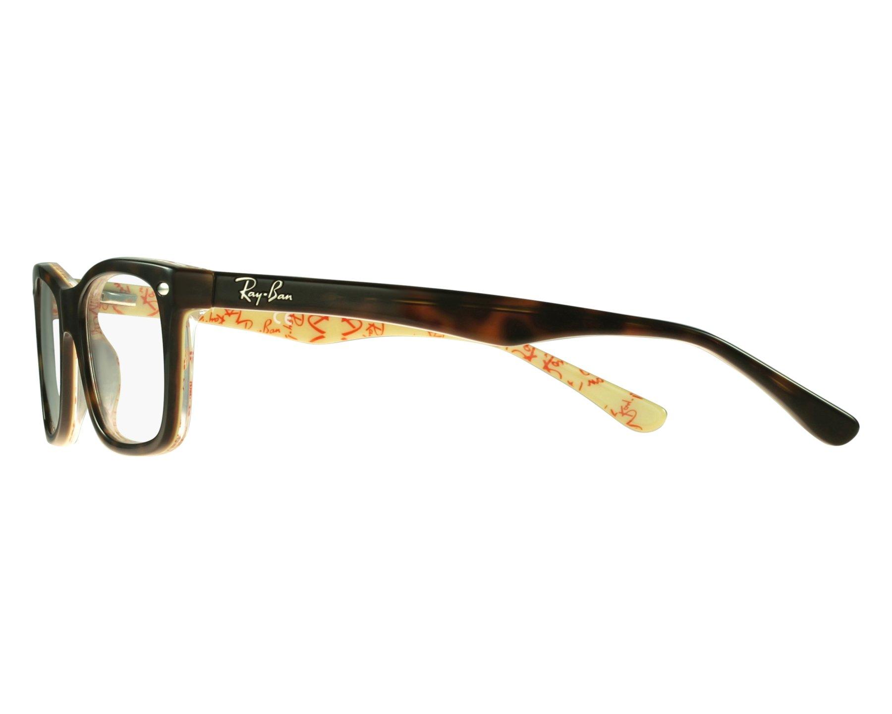 fe702fda3 Brillen Ray-Ban RX-5228 5057 50-17 havana Vorderansicht