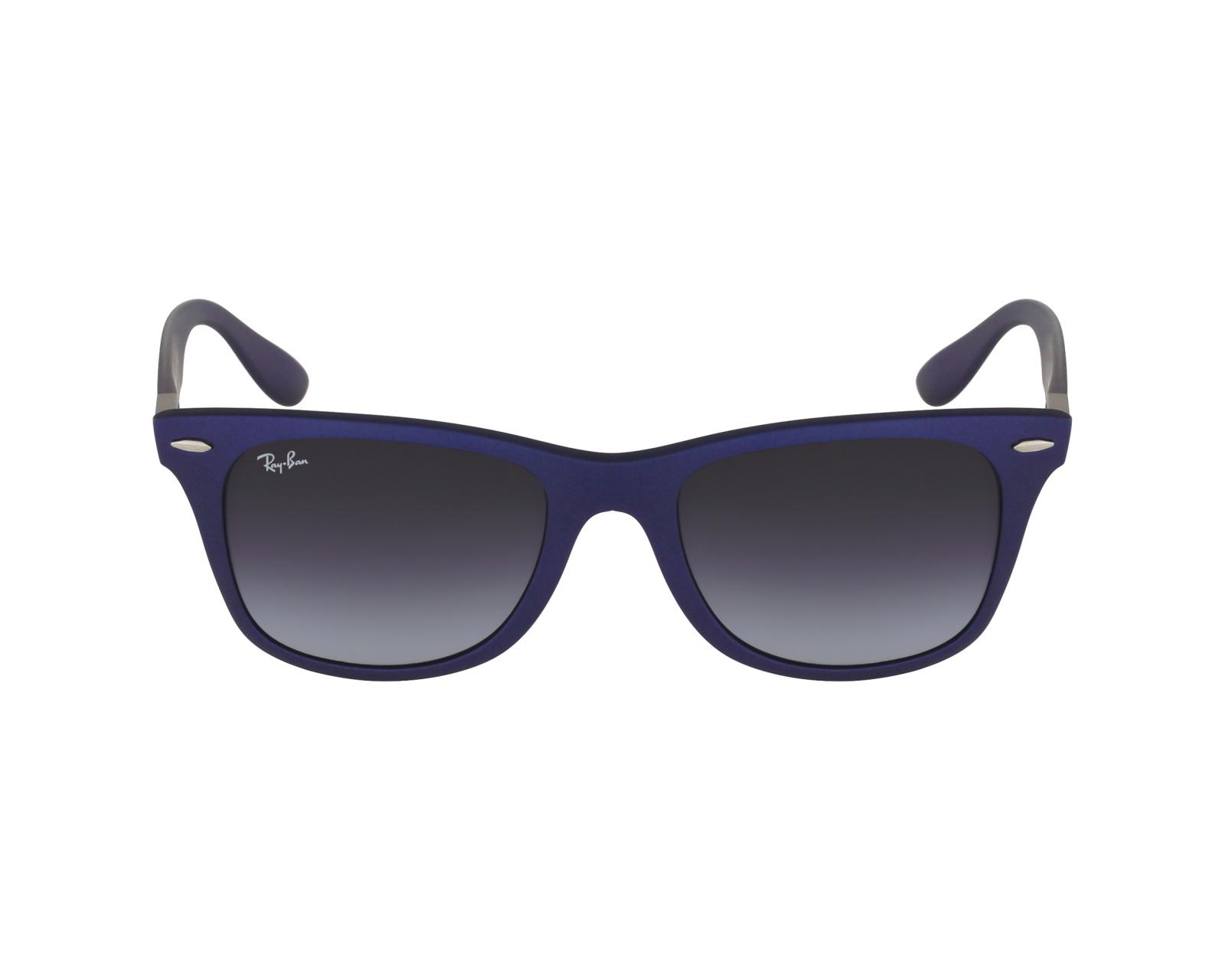 Ray-Ban Liteforce Sonnenbrille Mattblau 624830 52mm 2jRDR7P