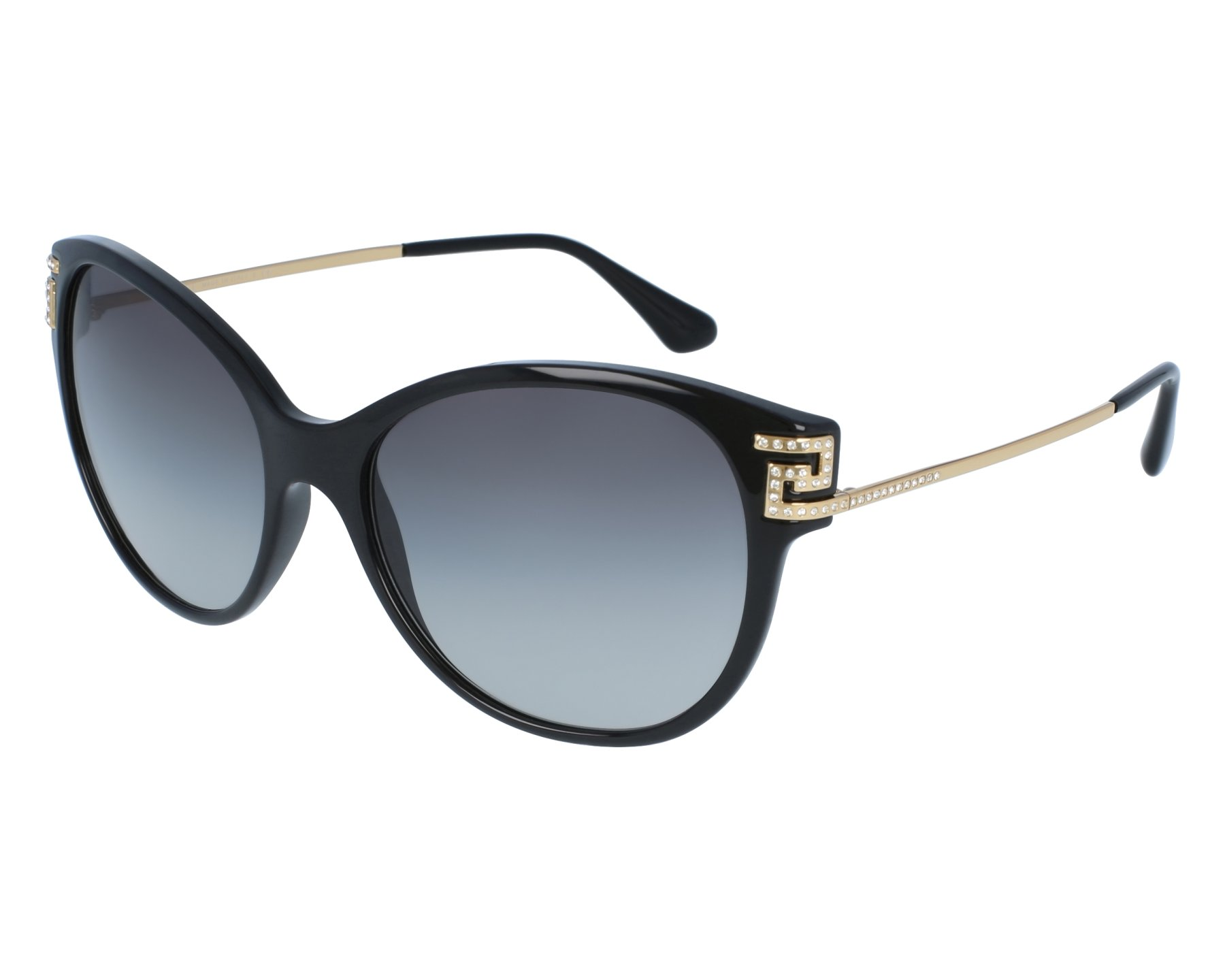 Versace VE4316B Sonnenbrille Schwarz GB1-11 57mm MYbkEO6