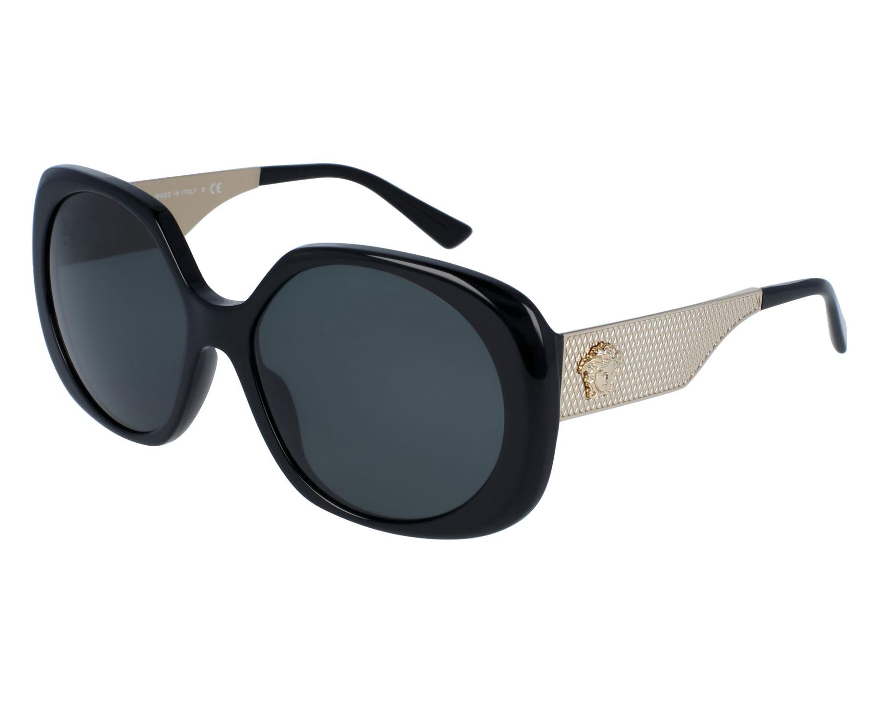 Versace VE4331 Sonnenbrille Schwarz GB1/87 57mm AS3Rw