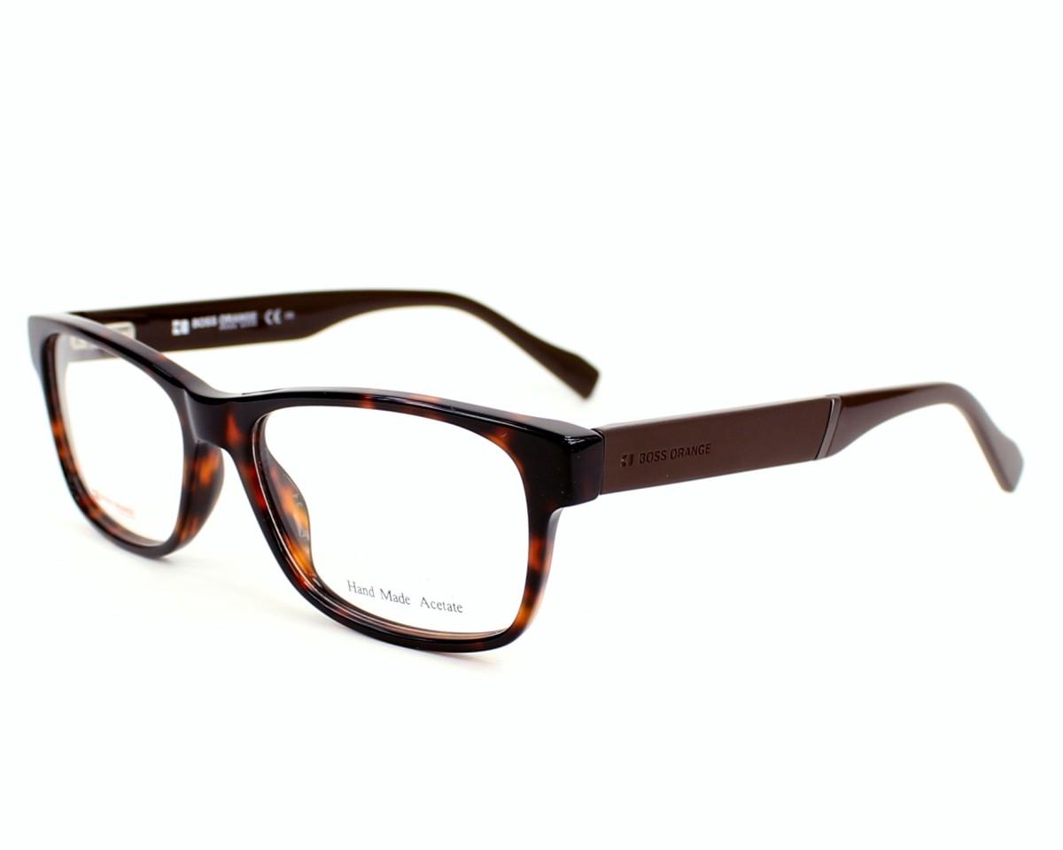 Boss Orange Herren Brille » BO 0084«, braun, 6S4 - braun