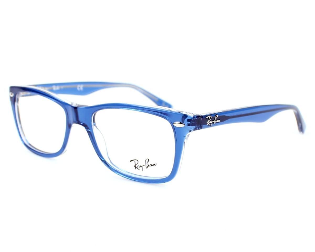 Vorschaubild Ray-Ban RX-5228 5111 - blau Profilansicht