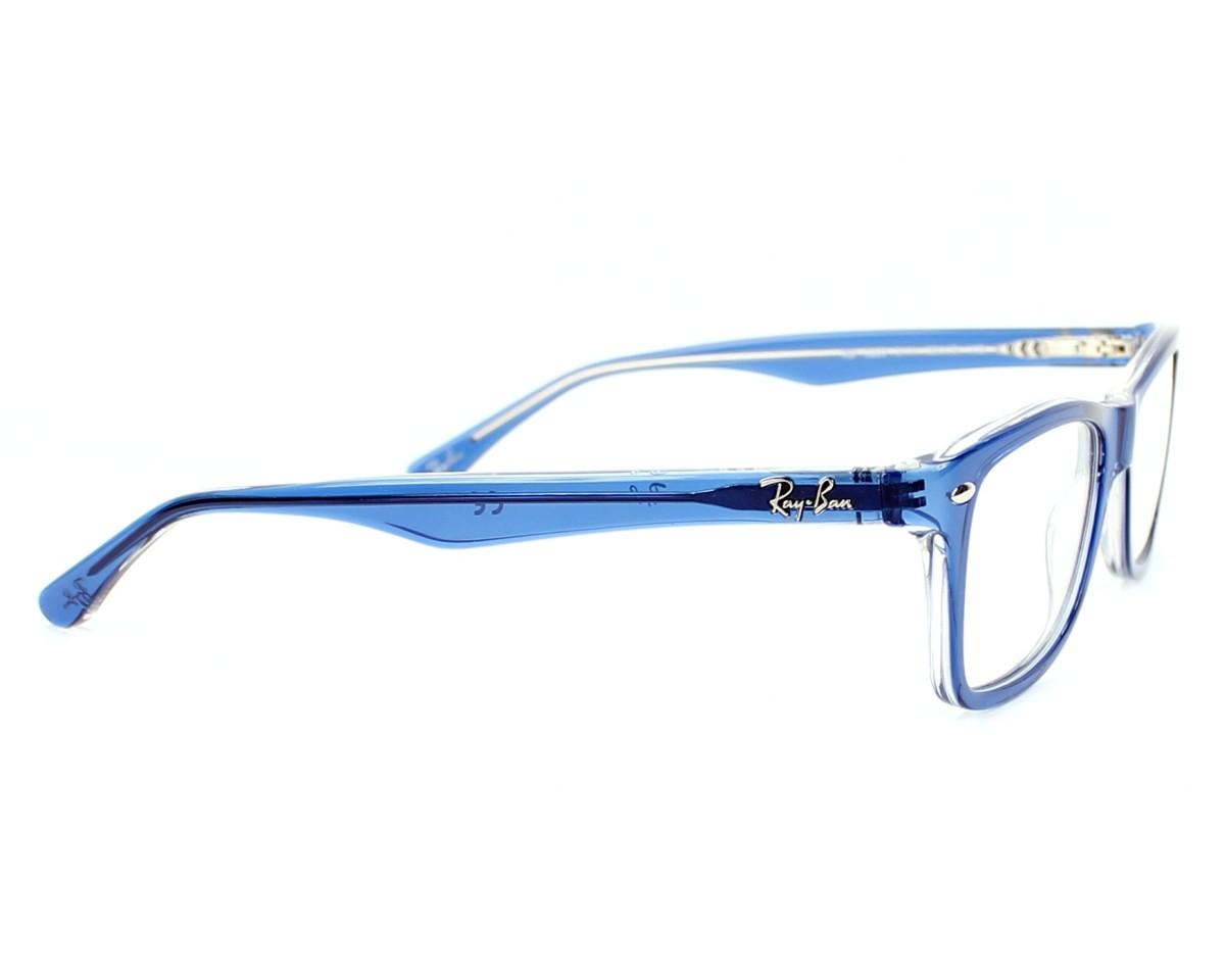 cd067301c Vorschaubild Brillen Ray-Ban RX-5228 5111 - blau Seitenansicht