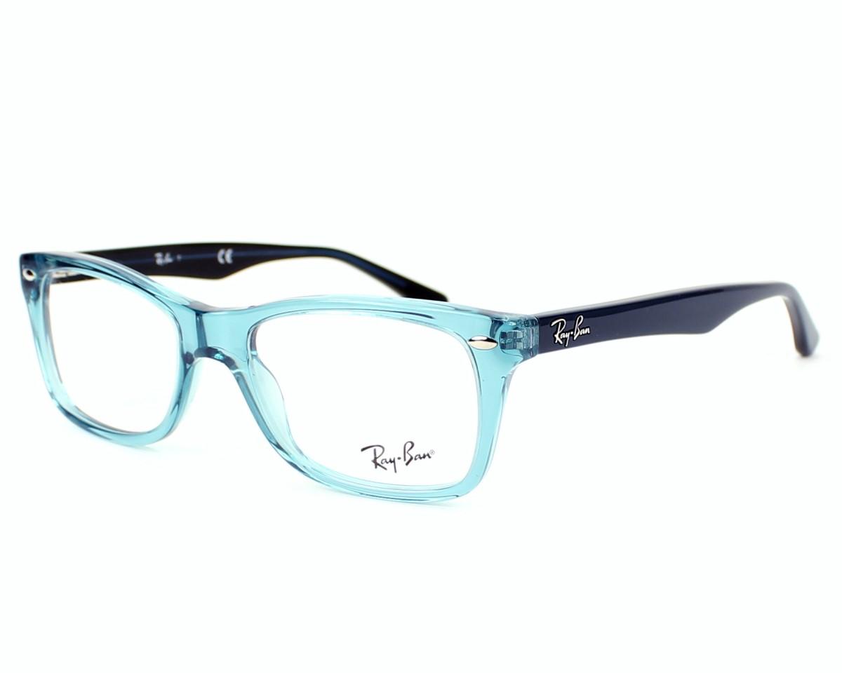 43602dc32 Brillen Ray-Ban RX-5228 5235 - blau blau Profilansicht