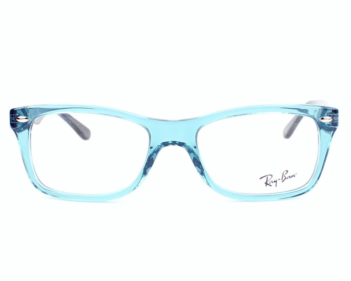 3187d09eb Brillen Ray-Ban RX-5228 5235 - blau blau Vorderansicht