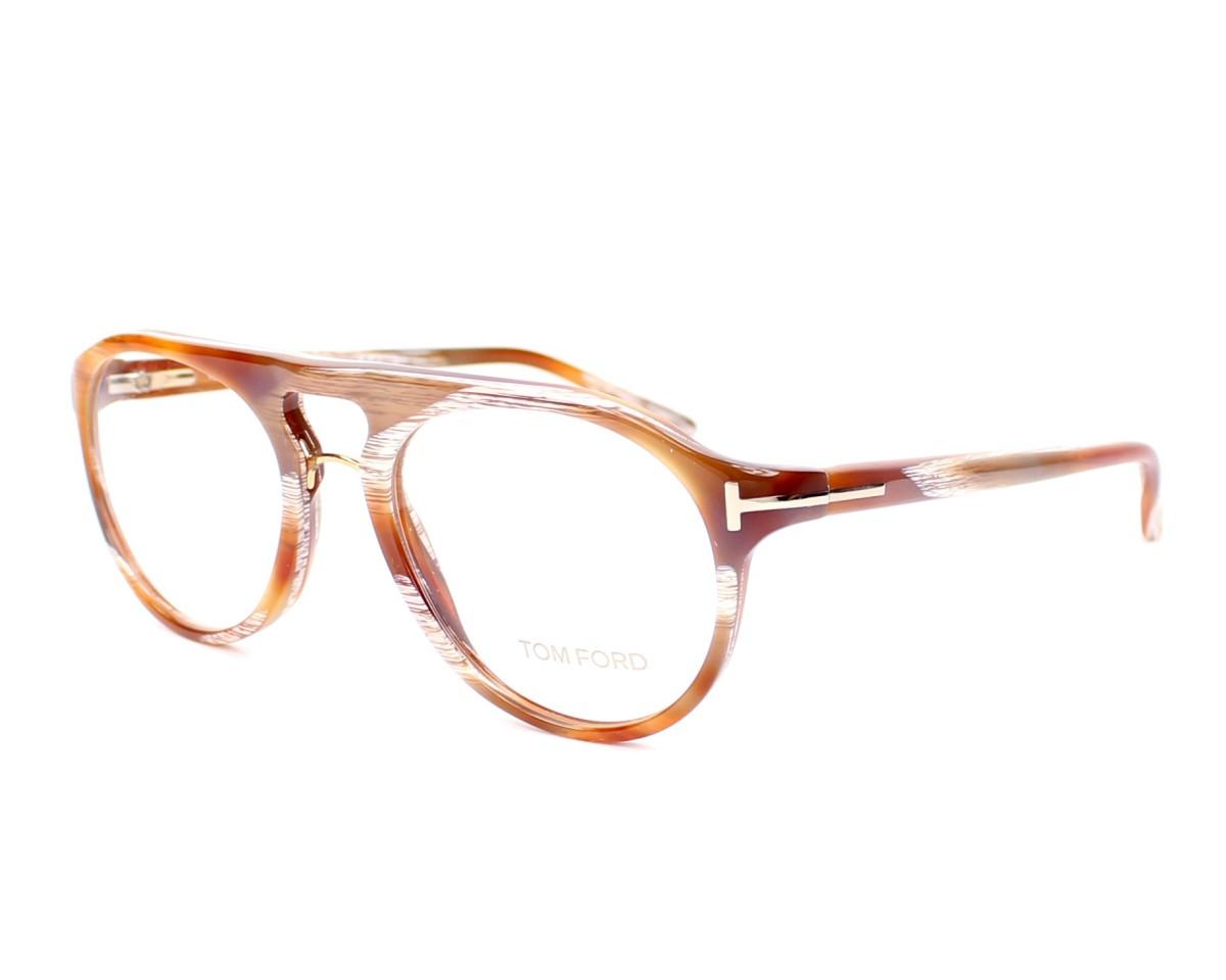2a78d148d149a2 Brillen Tom Ford TF-5007 Q41 49-18 braun Profilansicht