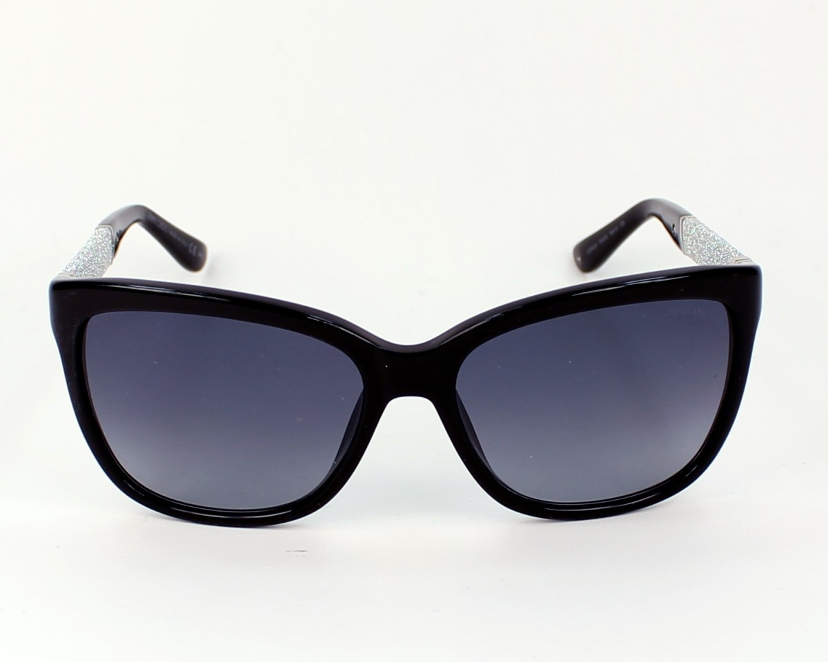 JIMMY CHOO Jimmy Choo Sonnenbrille » CORA/S«, schwarz, FA3/HD - schwarz/grau