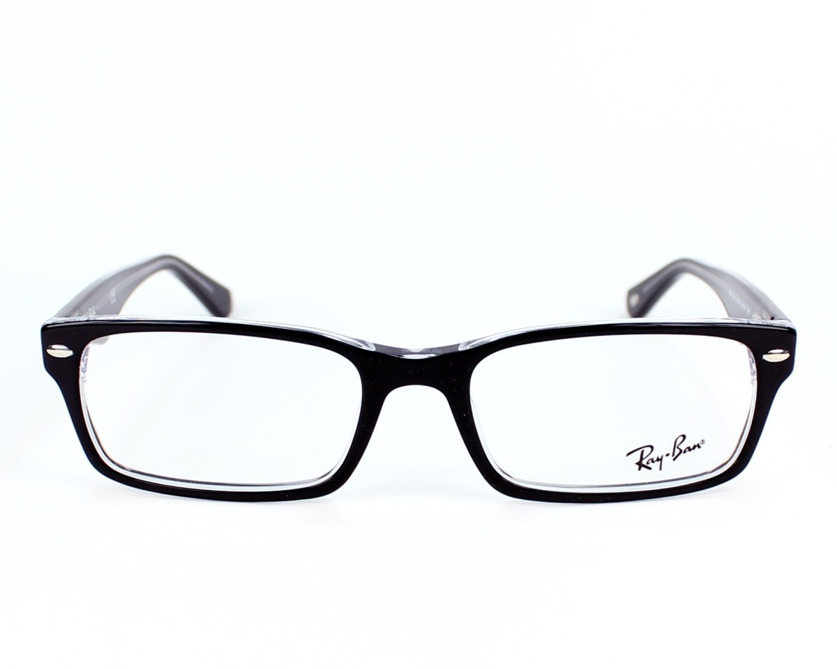 RAY BAN RAY-BAN Brille » RX5206«, schwarz, 2034 - schwarz