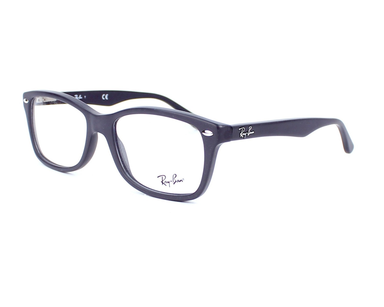 e92abd127 Brillen Ray-Ban RX-5228 5582 55-17 grau Profilansicht