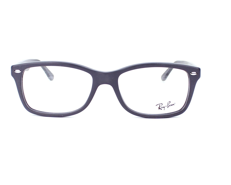 2df7e2072 Brillen Ray-Ban RX-5228 5582 55-17 grau Vorderansicht