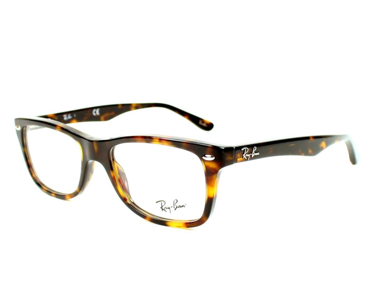 62b6262f9 Brillen Ray-Ban RX-5228 2012 50-17 havana Profilansicht