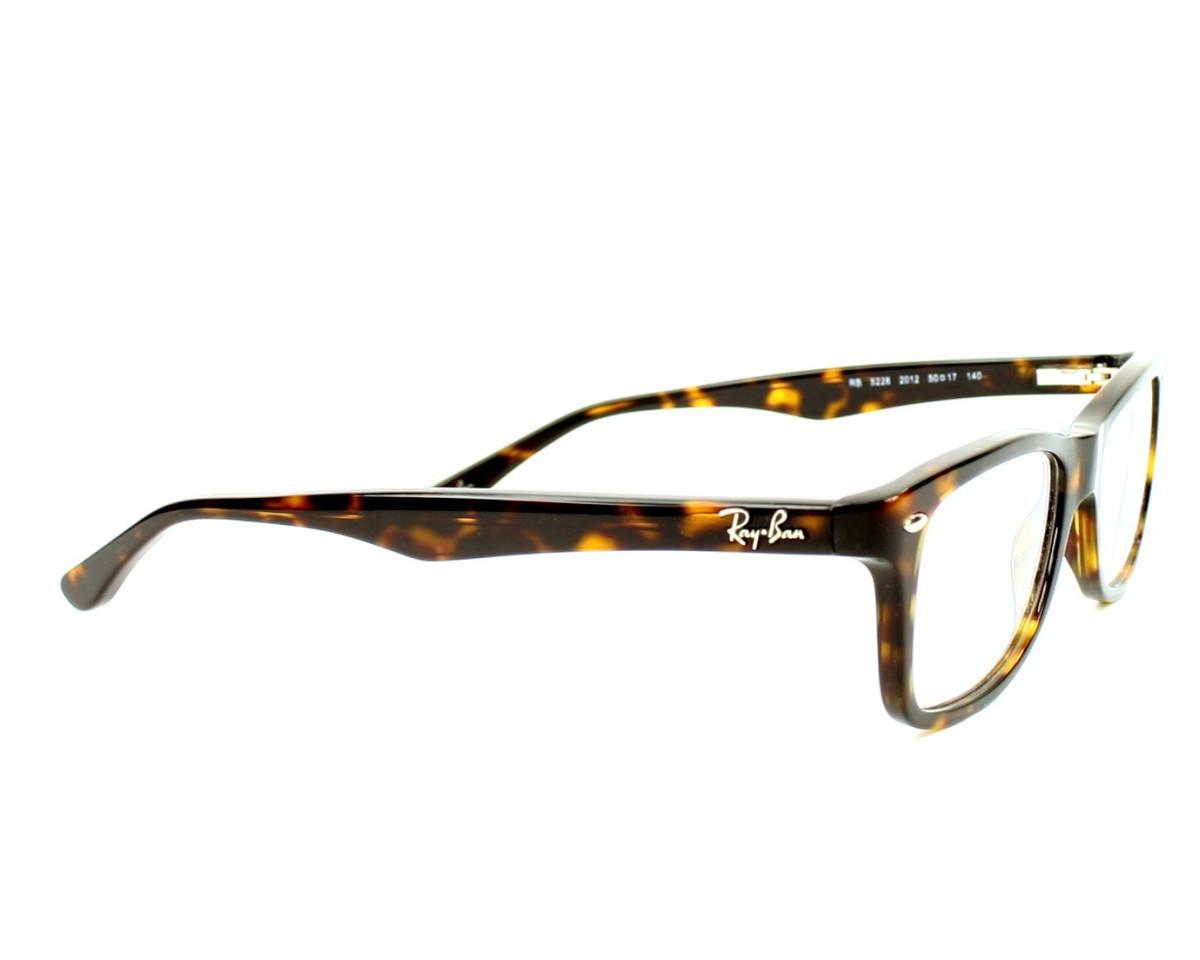 cf7682e31 Brillen Ray-Ban RX-5228 2012 50-17 havana Seitenansicht