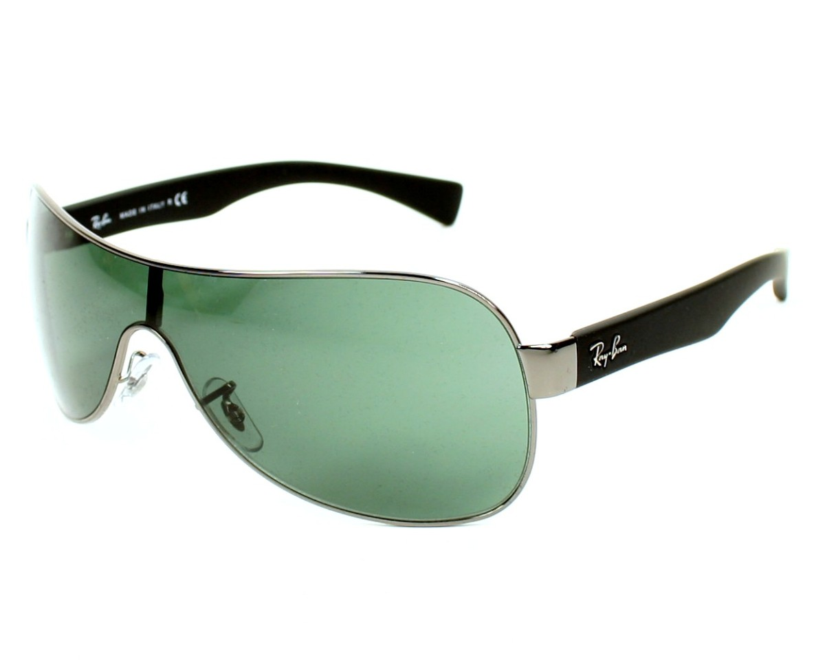 Ray-Ban RB3471 Sonnenbrille Silber 004/71 32mm ZBtc1