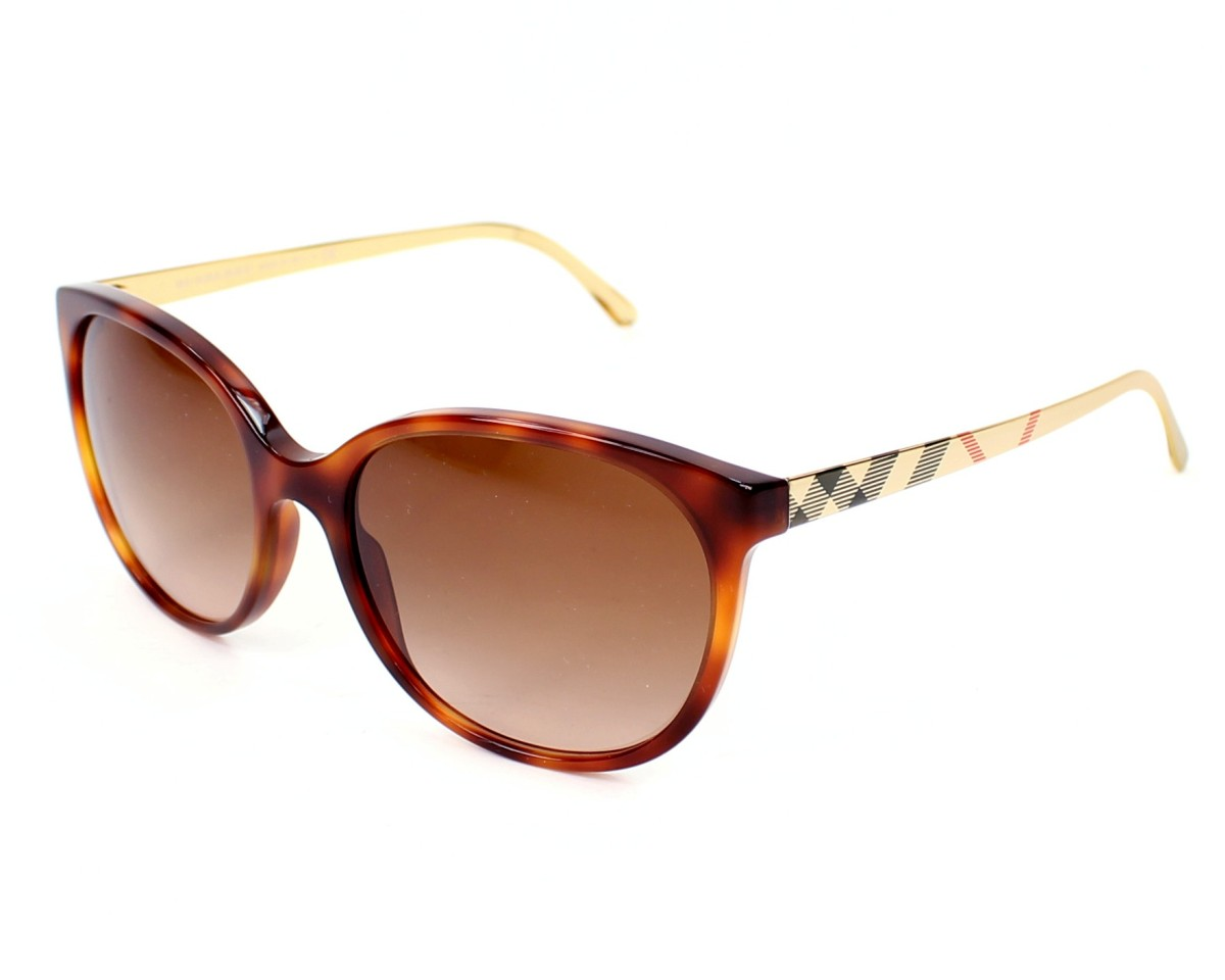 Burberry BE4146 Sonnenbrille Havanna 340713 55mm ymzm8mn