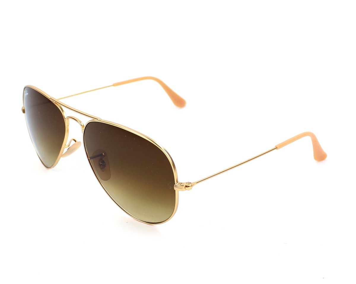 RAY BAN Sonnenbrille Aviator 3025/58 gold HB4M631zdL