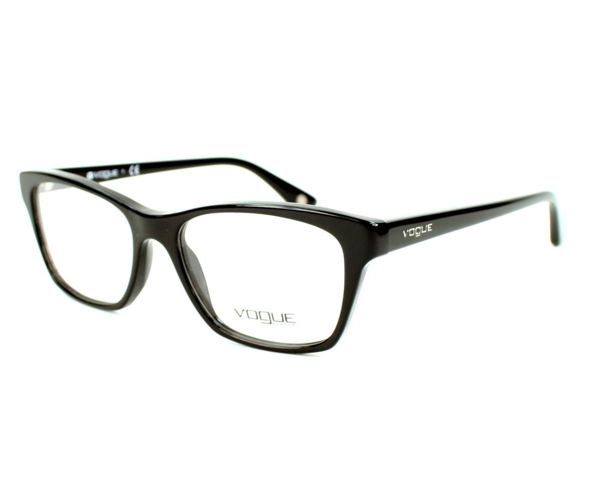 5953858991f Brillen Vogue VO-2714 W44 52-16 schwarz Profilansicht