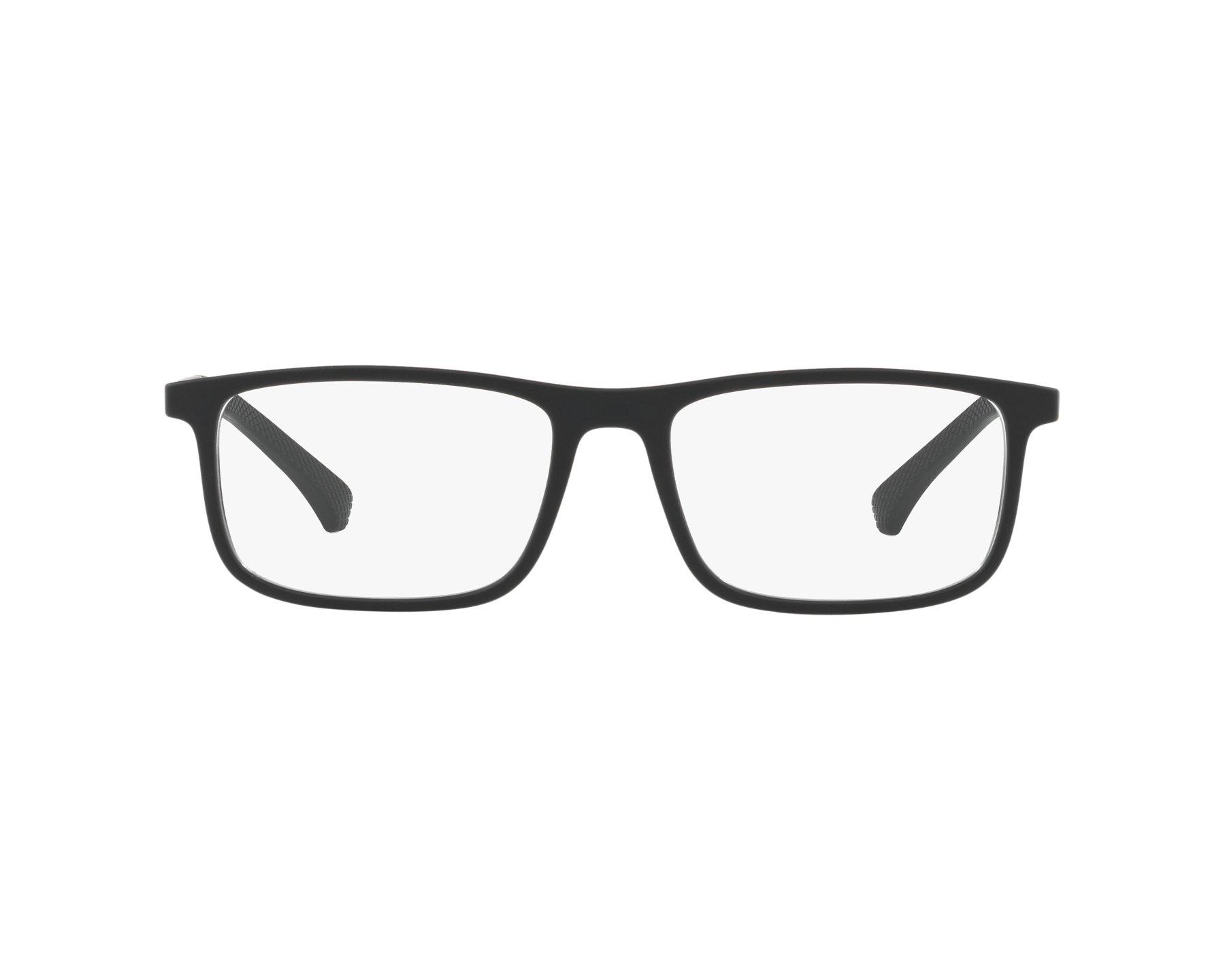 96a63a730fb2 Brillen Emporio Armani EA-3125 5063 53-17 schwarz schwarz 360-Grad-