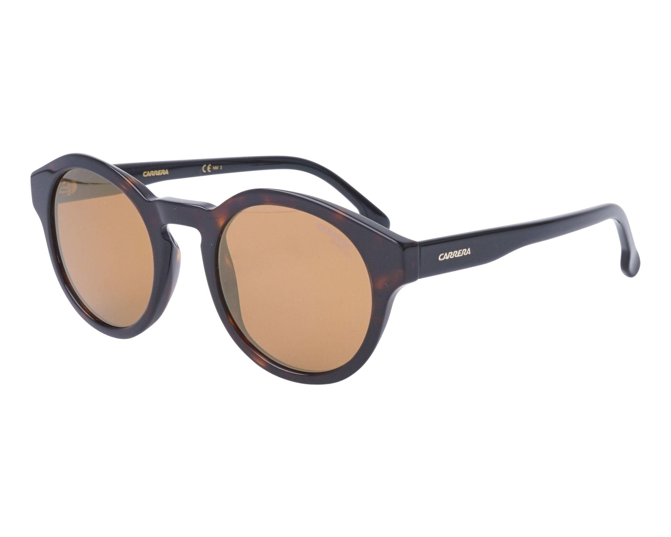 Carrera Eyewear Sonnenbrille » CARRERA 165/S«, schwarz, 807/HA - schwarz/braun