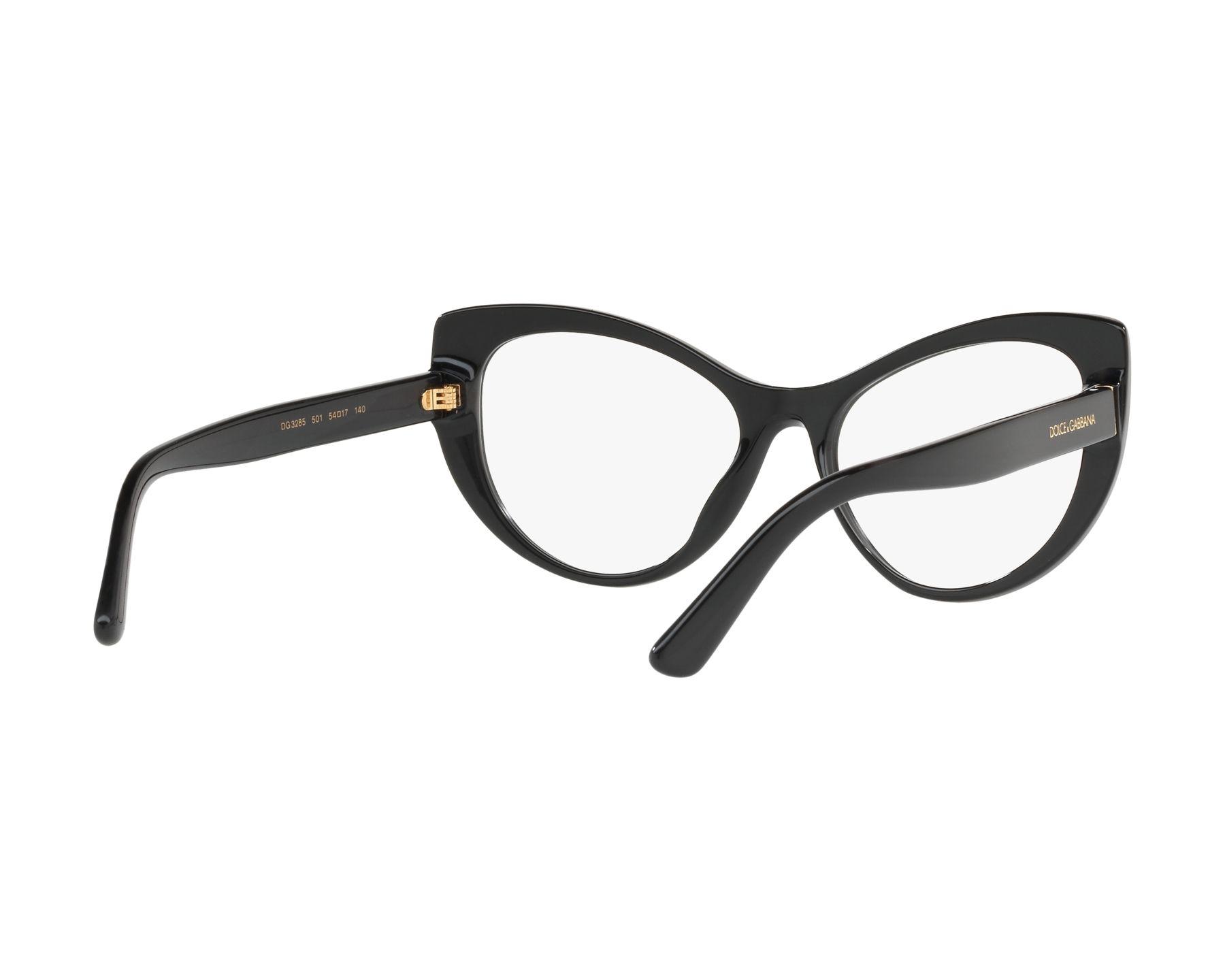 DOLCE & GABBANA Dolce & Gabbana Damen Brille » DG3285«, schwarz, 3152 - schwarz