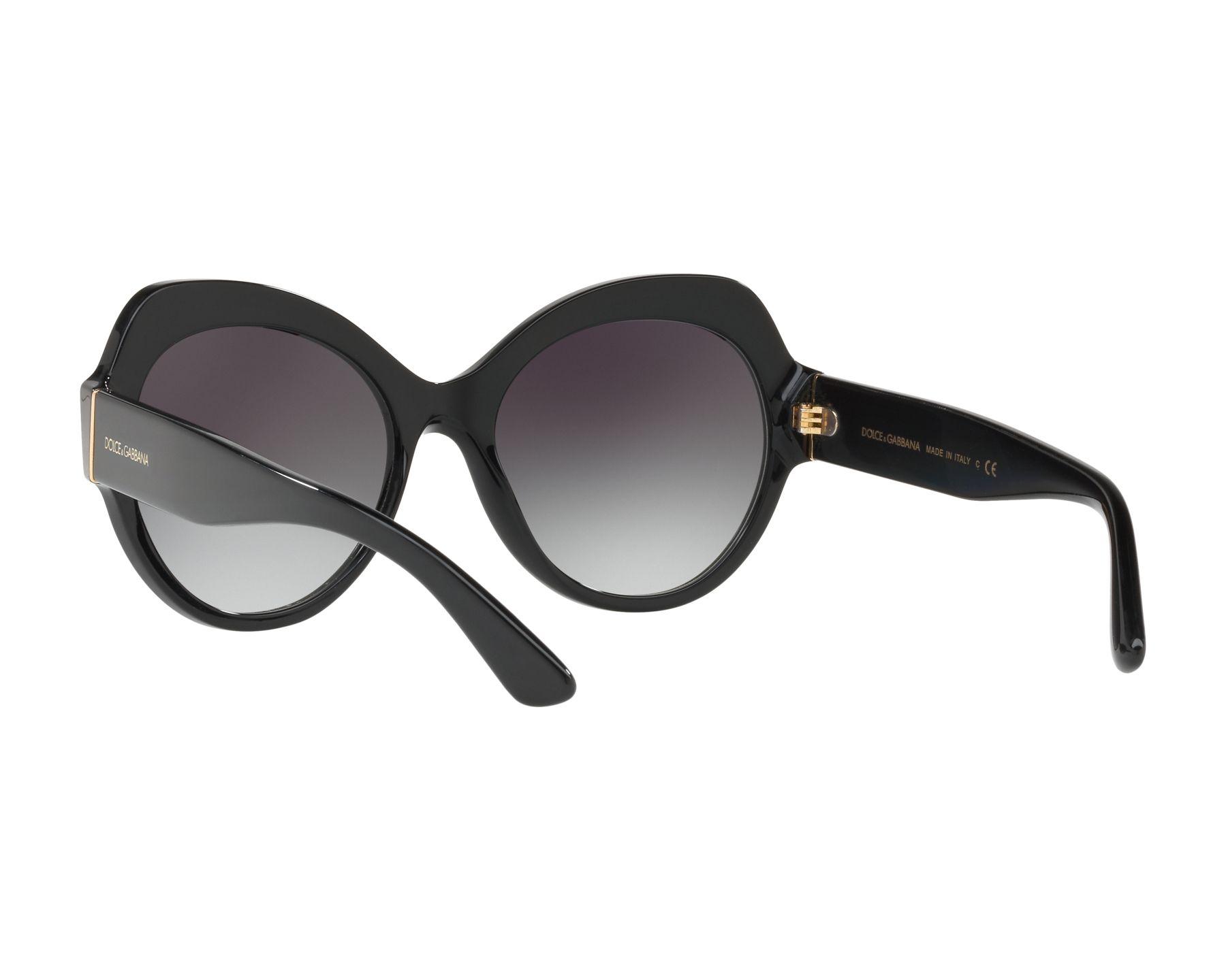 Dolce and Gabbana DG4320 Sonnenbrille Schwarz 501/8G 56mm SBoqte5