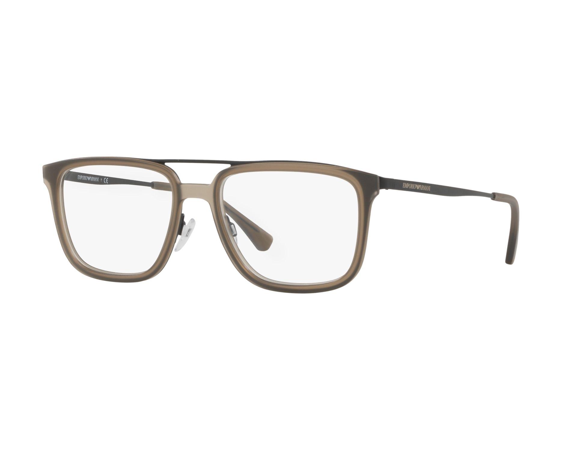 d7570bf29ee266 Brillen Emporio Armani EA-1073 3001 54-18 schwarz grau