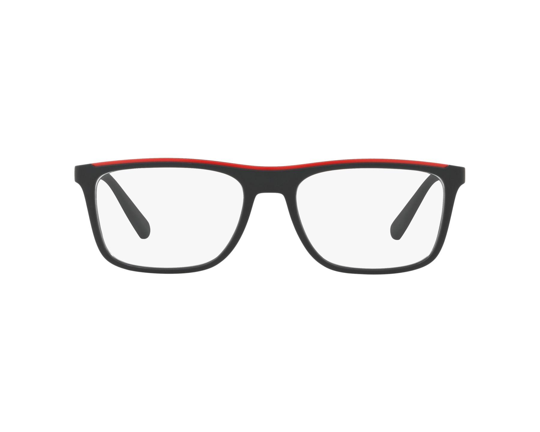 Emporio Armani Herren Brille » EA3124«, schwarz, 5042 - schwarz