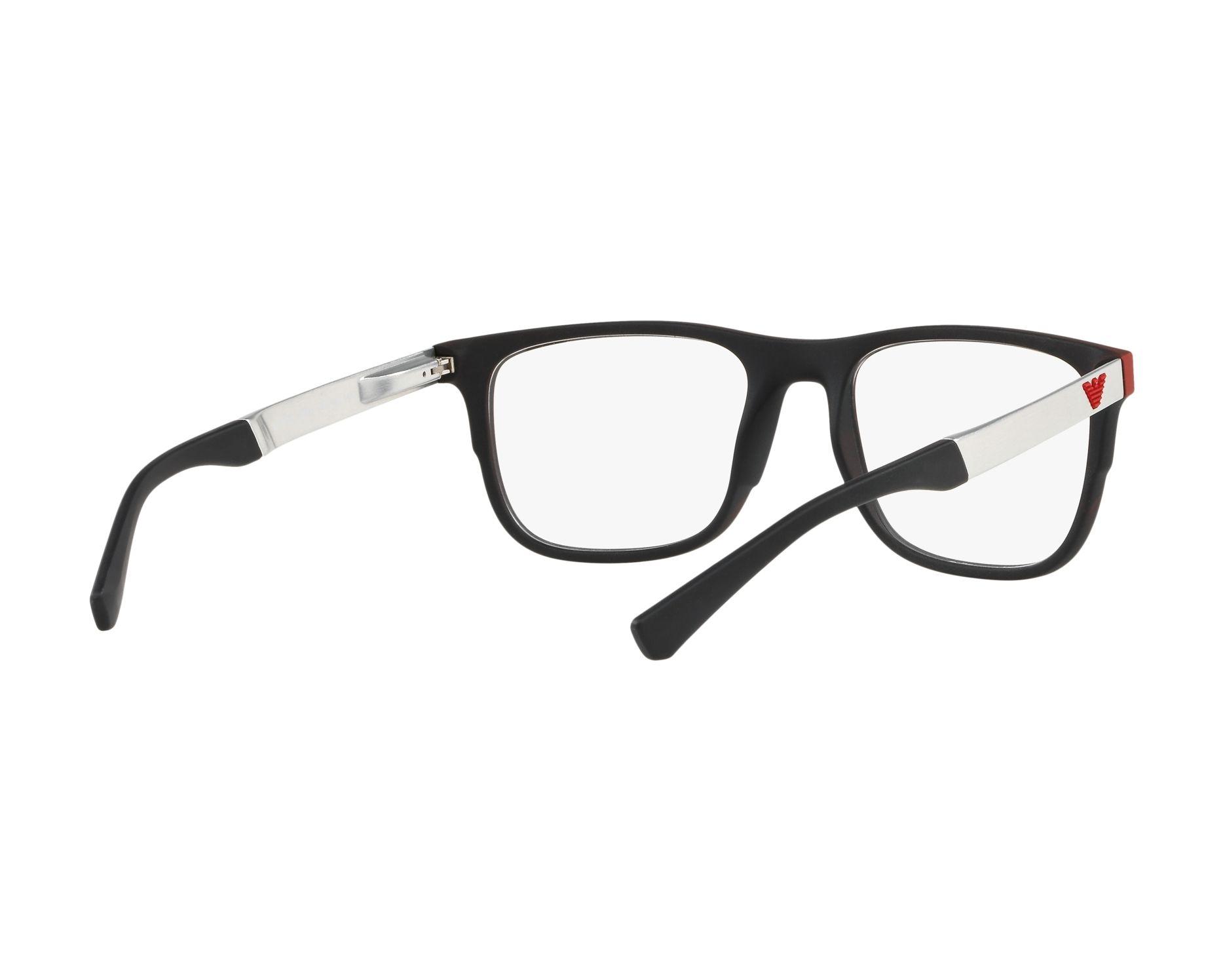 Emporio Armani Herren Brille » EA3133«, schwarz, 5666 - schwarz