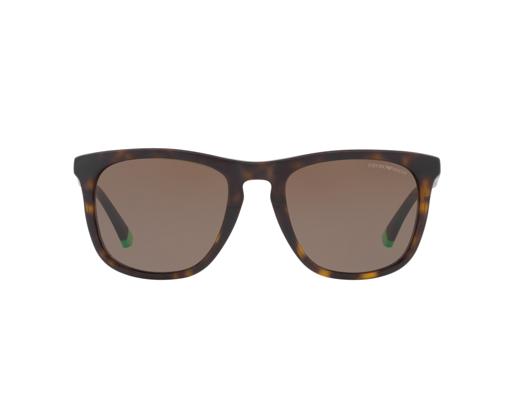 Emporio Armani EA4105 Sonnenbrille Mattgrün 55976R 53mm itgPsw