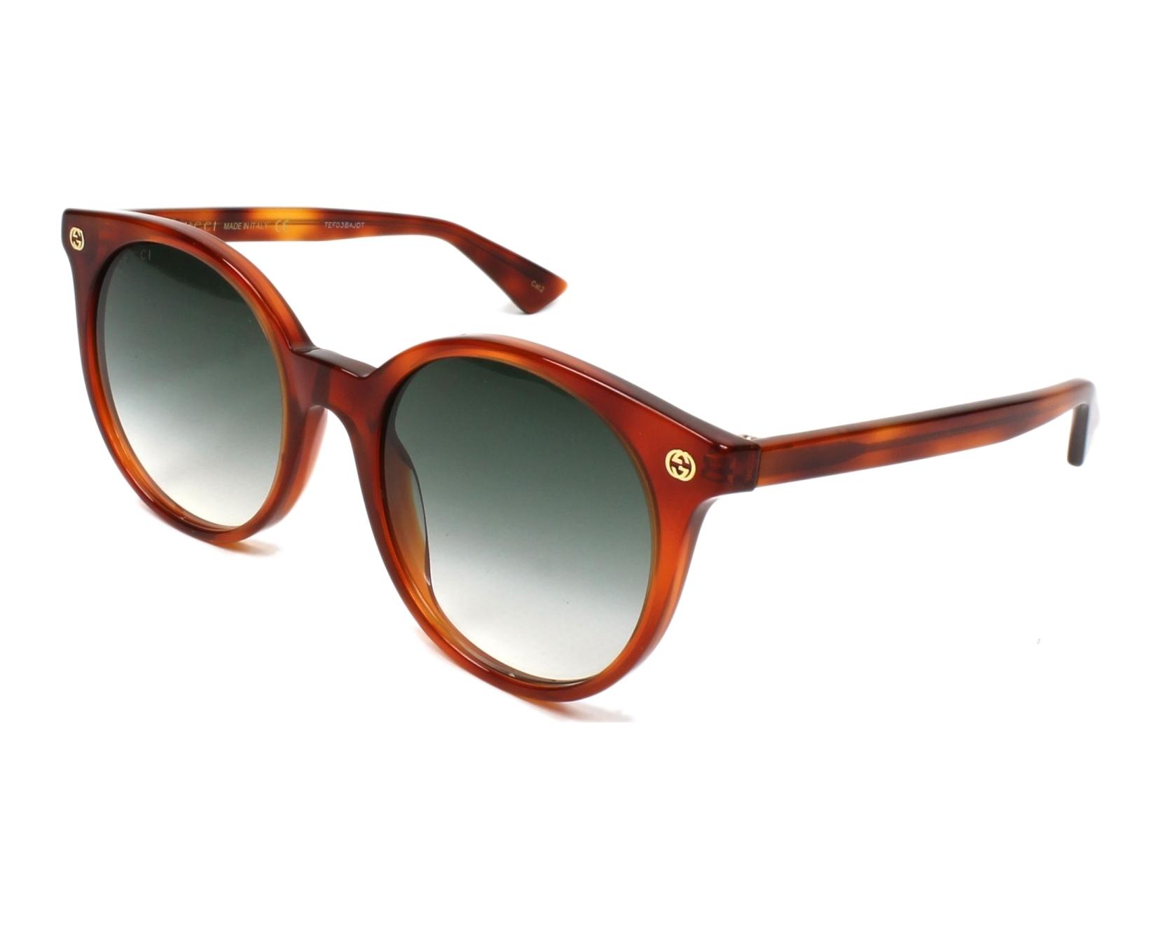 Gucci GG0091S 002 Sonnenbrille GL7Z0