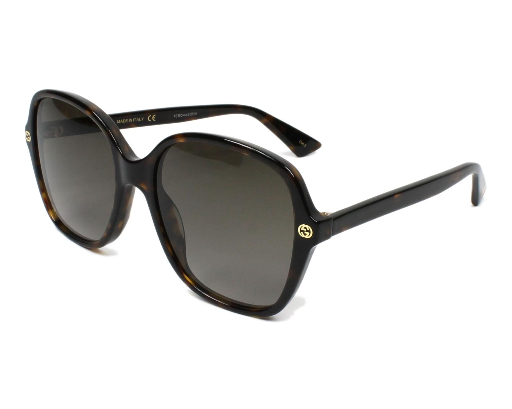 Gucci GG0092S 002 Sonnenbrille bBCjHfpN