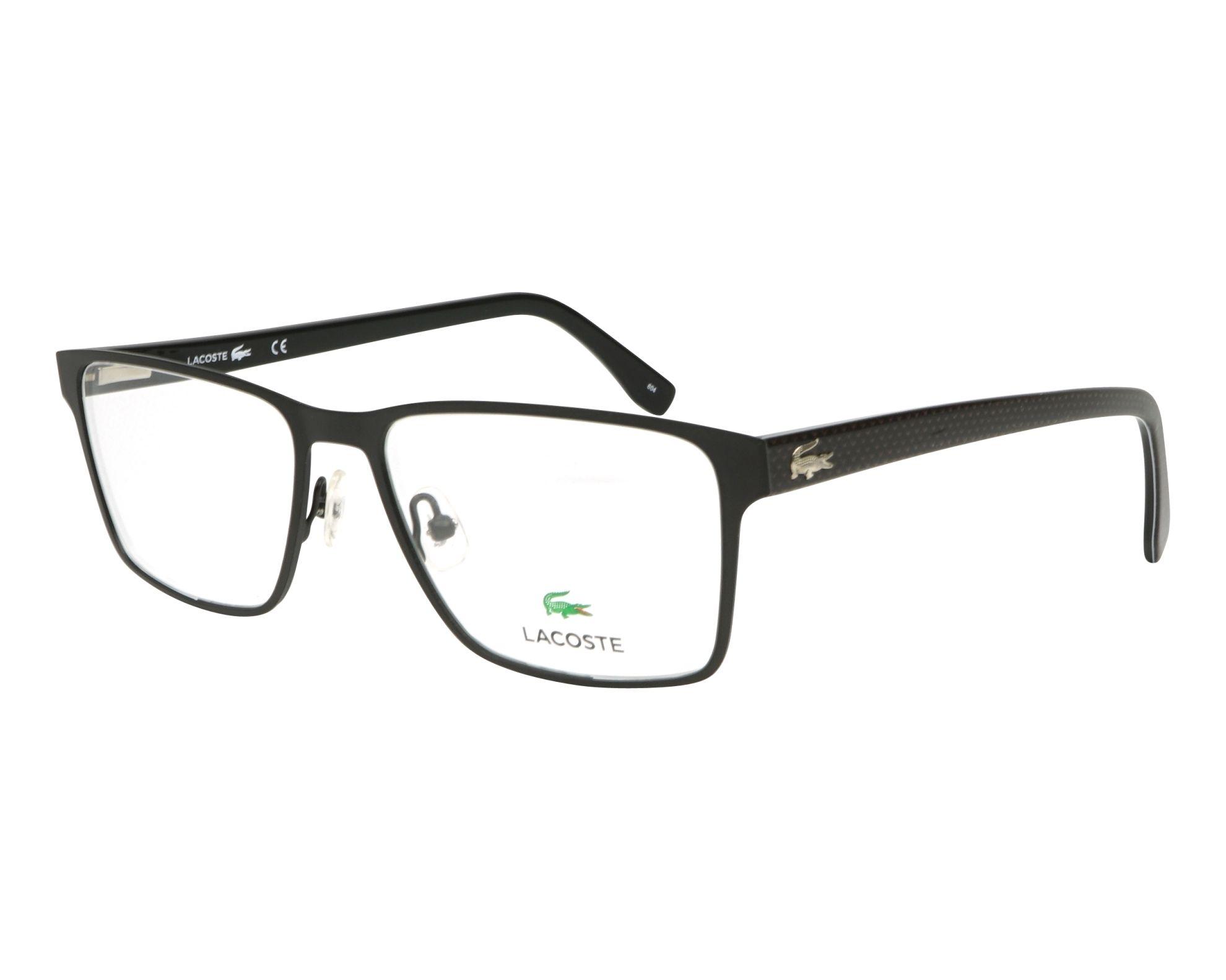275b1ba9681 Brillen Lacoste L-2205 001 - schwarz schwarz Profilansicht