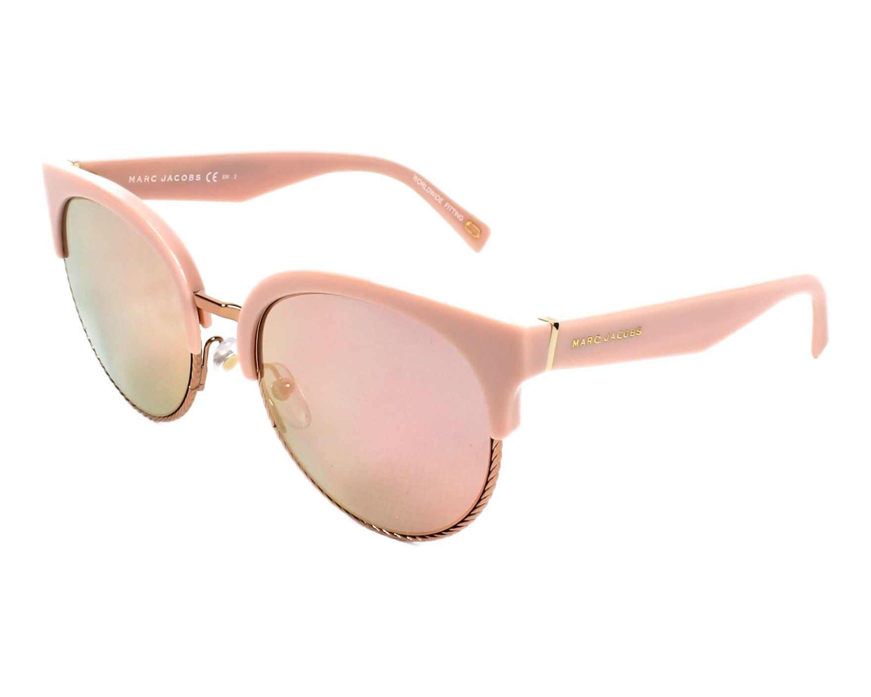 MARC JACOBS Marc Jacobs Damen Sonnenbrille » MARC 170/S«, rot, LHF/IC - rot/ silber