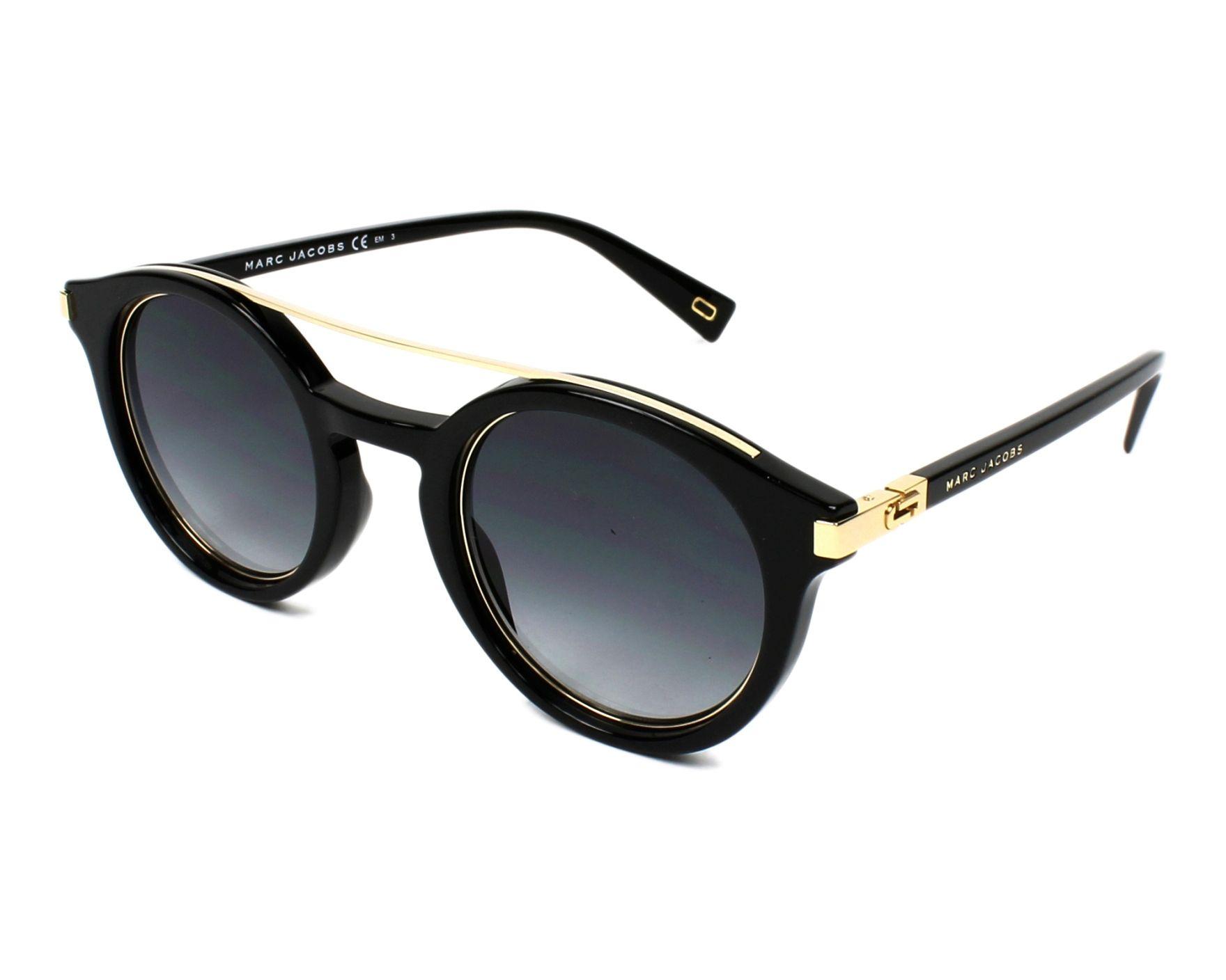 MARC JACOBS Marc Jacobs Sonnenbrille » MARC 173/S«, schwarz, 284/IR - schwarz/grau