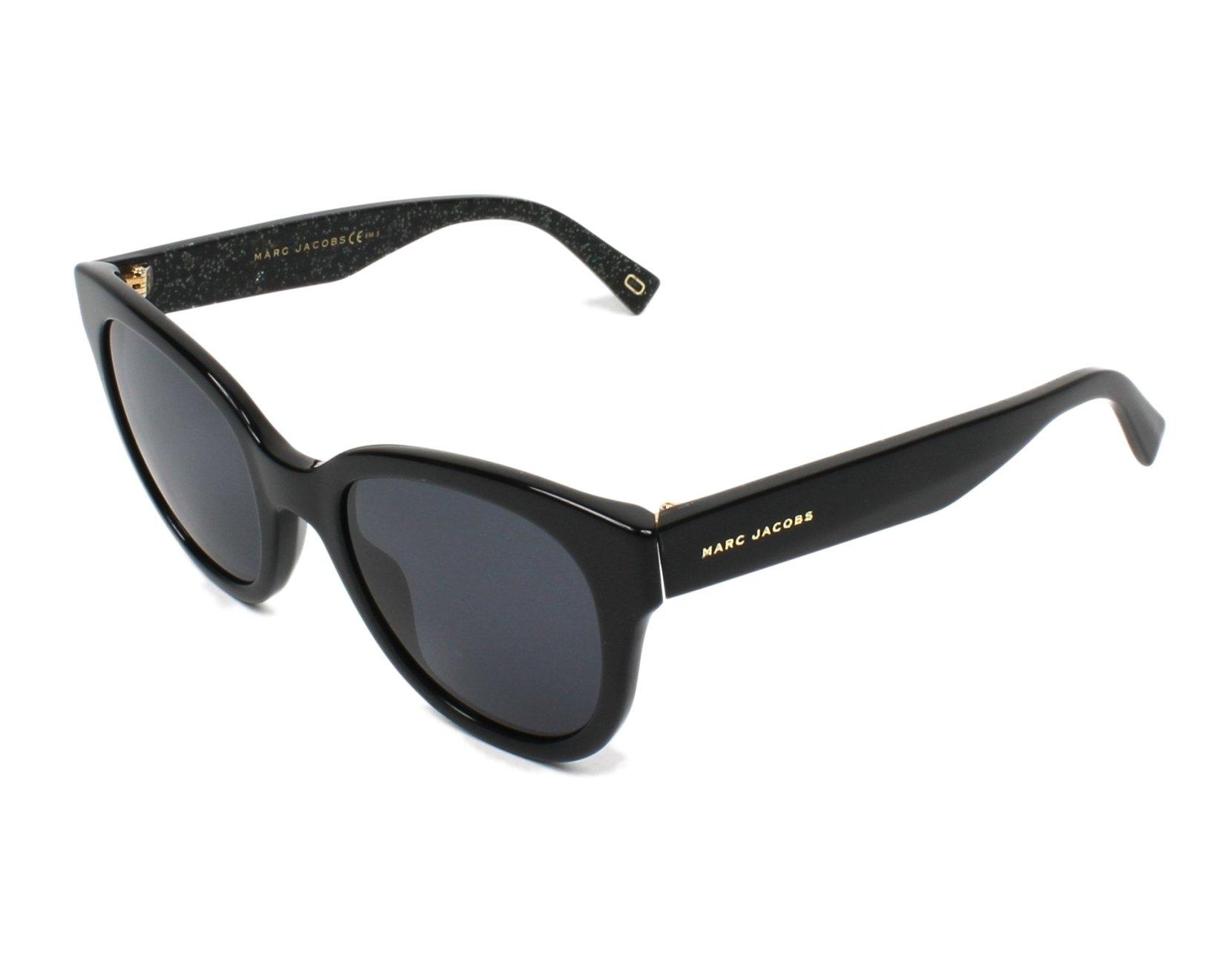 Marc Jacobs Marc231/S Sonnenbrille Schwarz Glitter NS8 50mm zePIlr ...
