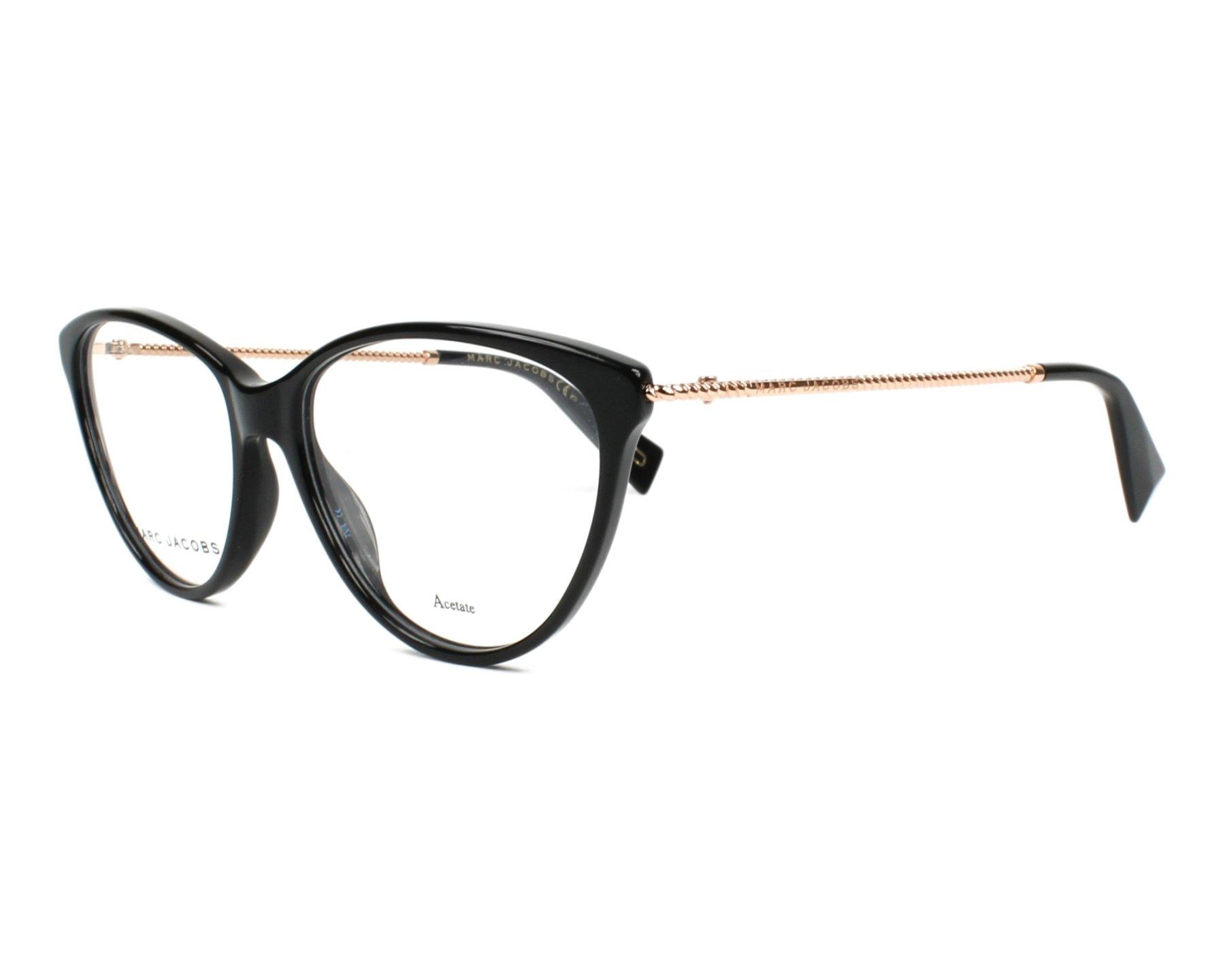 MARC JACOBS Marc Jacobs Brille » MARC 23«, schwarz, 807 - schwarz