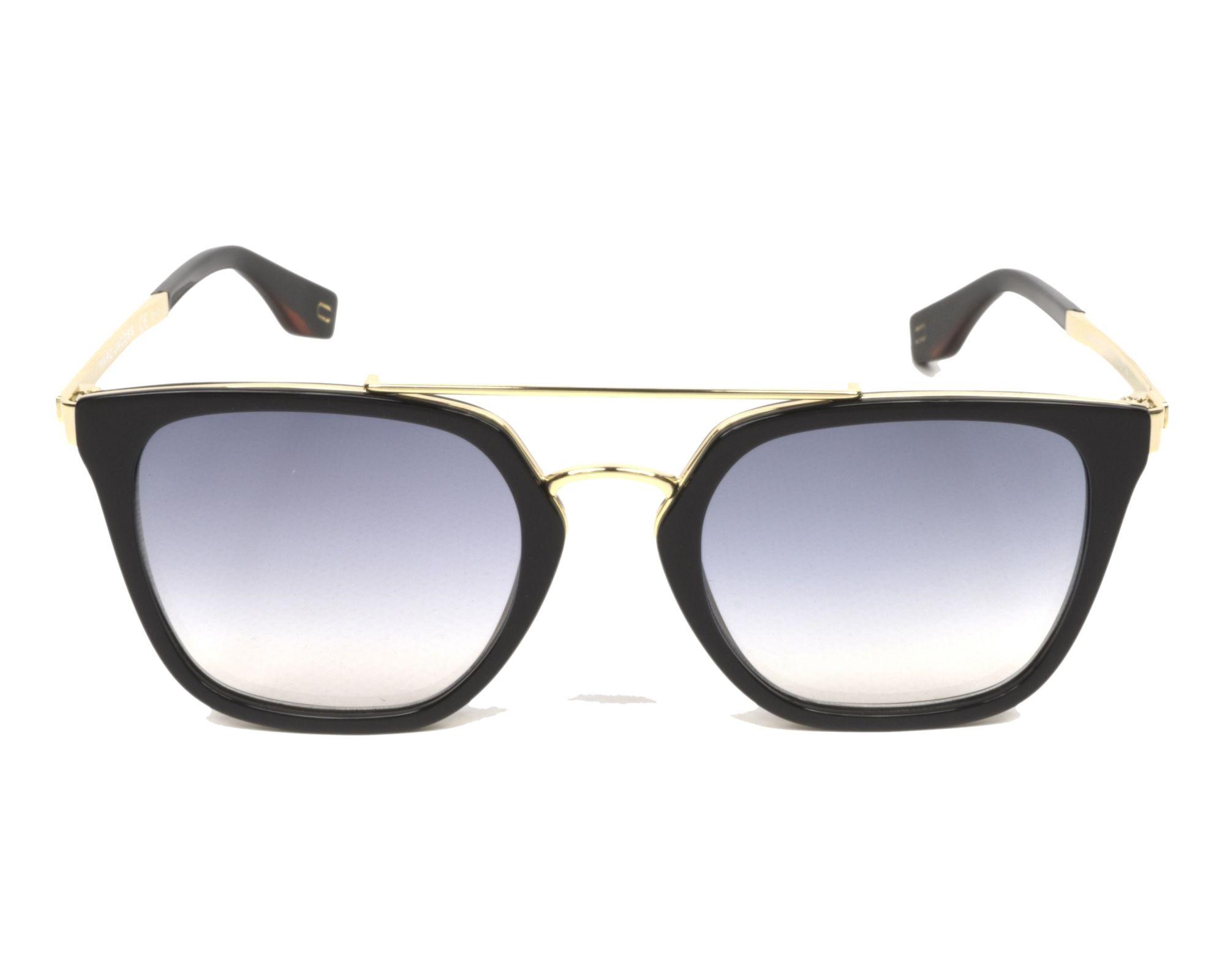 MARC JACOBS Marc Jacobs Herren Sonnenbrille » MARC 270/S«, schwarz, 807/1V - schwarz/ gold